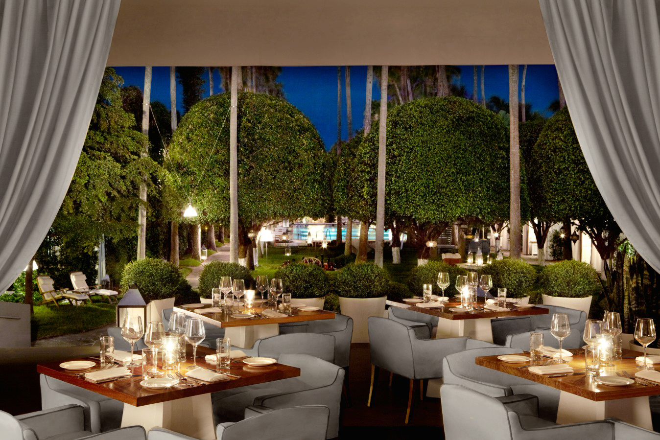 LEYNIA - Well Fed branding client LEYNIA at Delano South Beach is now Miami's #1 Restaurant on Tripadvisor. This bold Argentinean grill concept is led by Chef Jose Icardi, with many menu items prepared over an open-flame parilla in the center of the dining space.Photo courtesy of Delano South Beach.