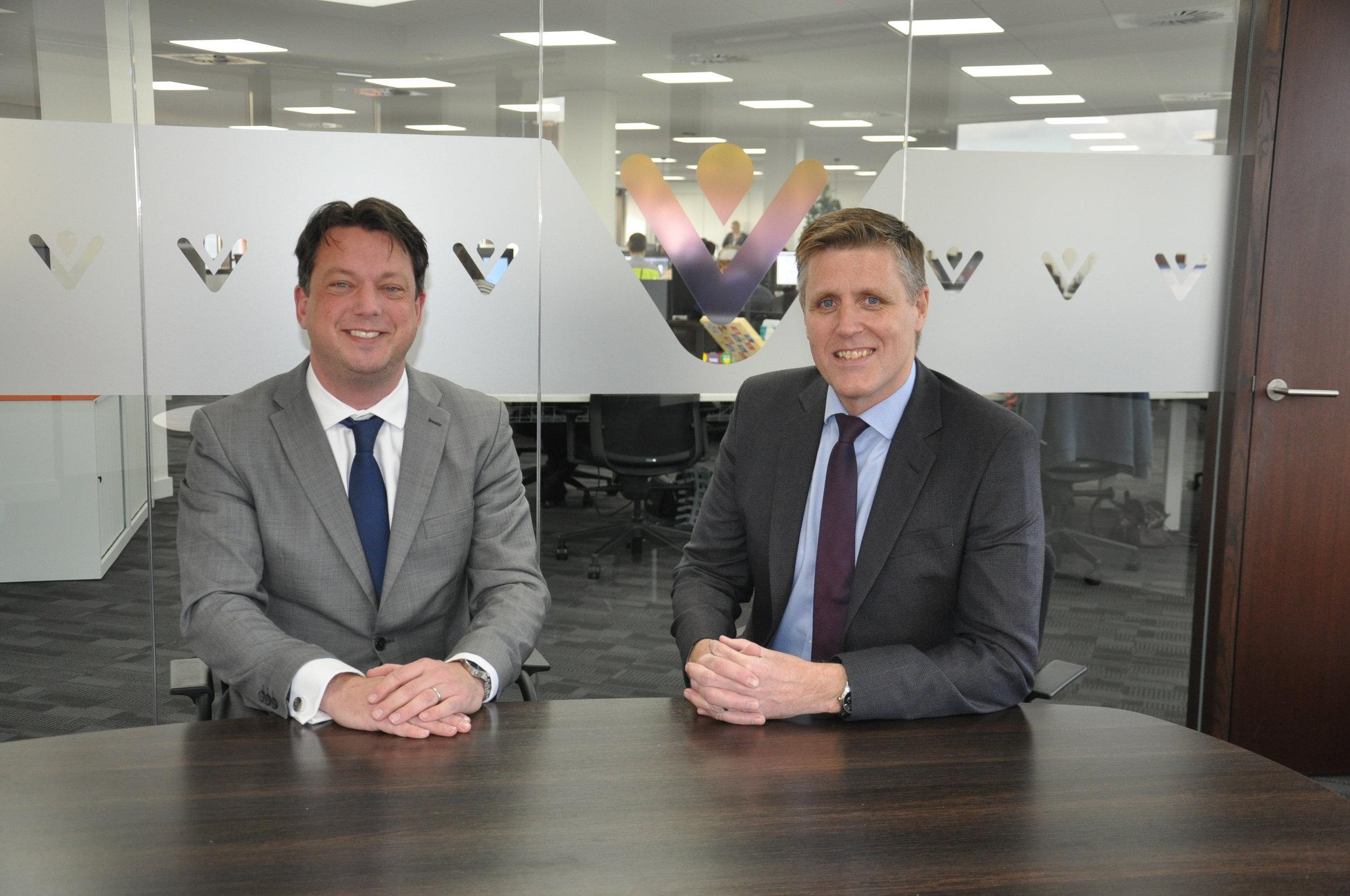 Kevin Hartshorn, Head of Assets at VIVID, & Paul Marsh, Managing Director at Resi-Safe UK