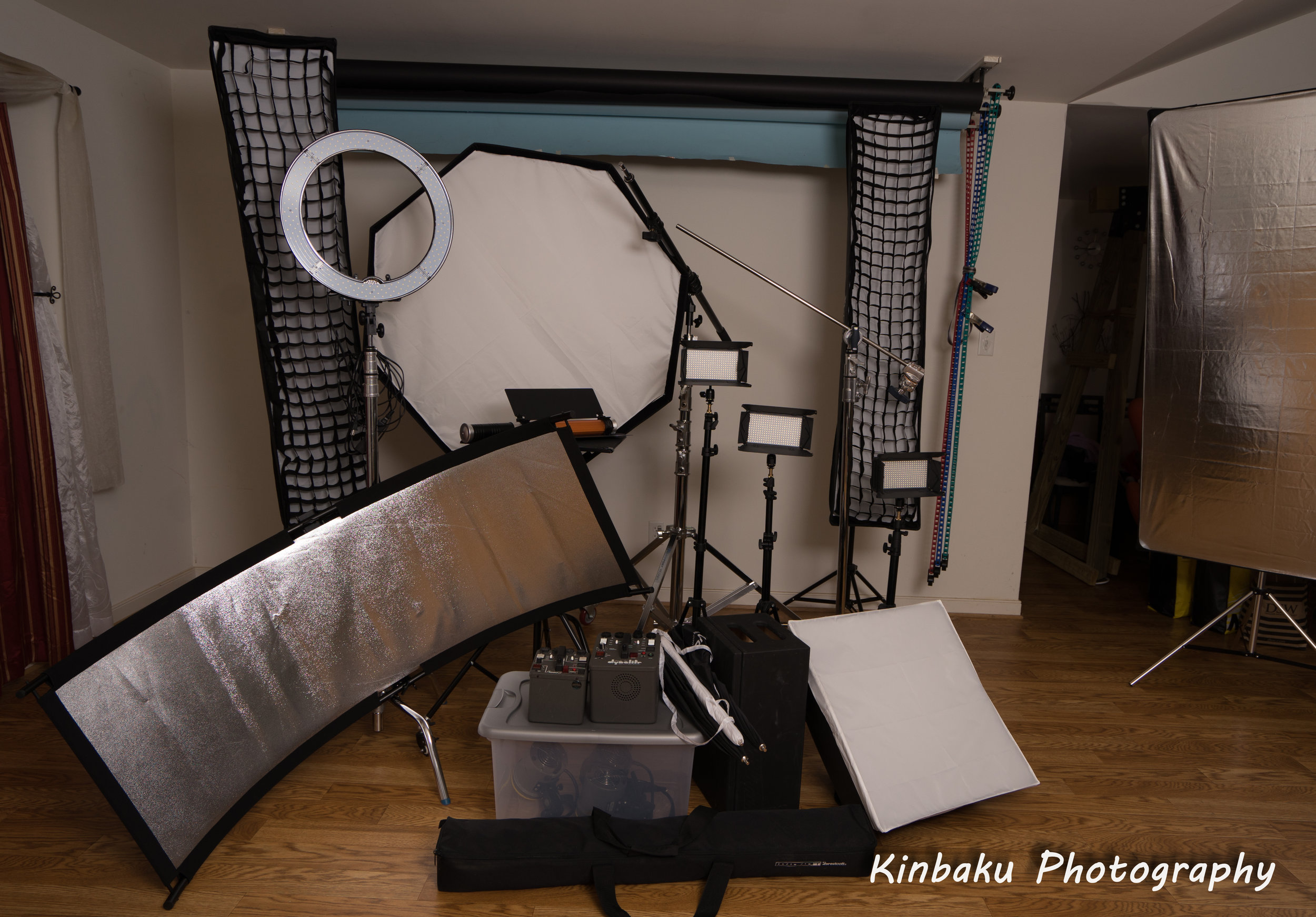 Fully equipped photography studio available to rent