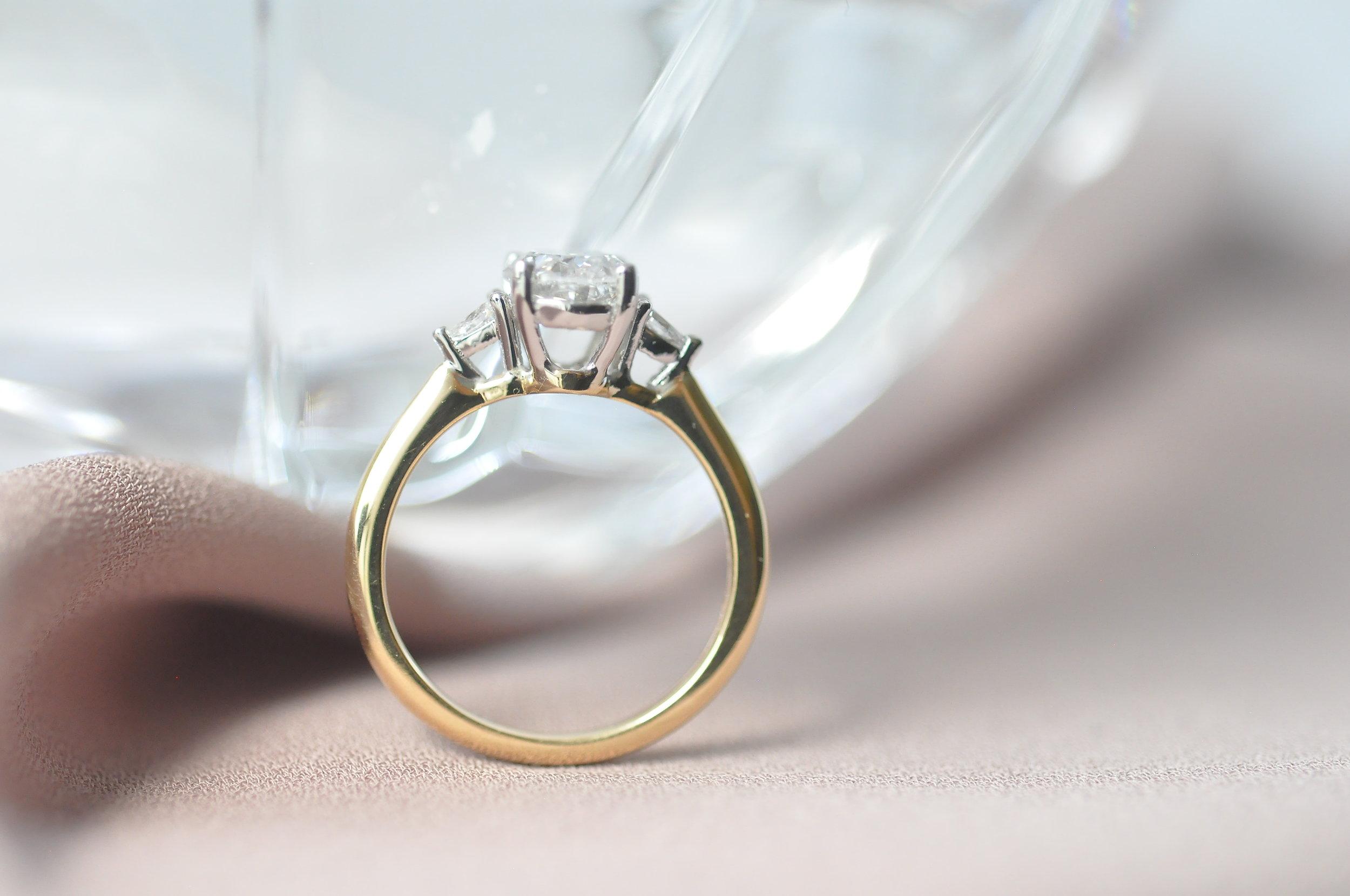 Custom 3 Stone Engagement Ring Toronto .JPG