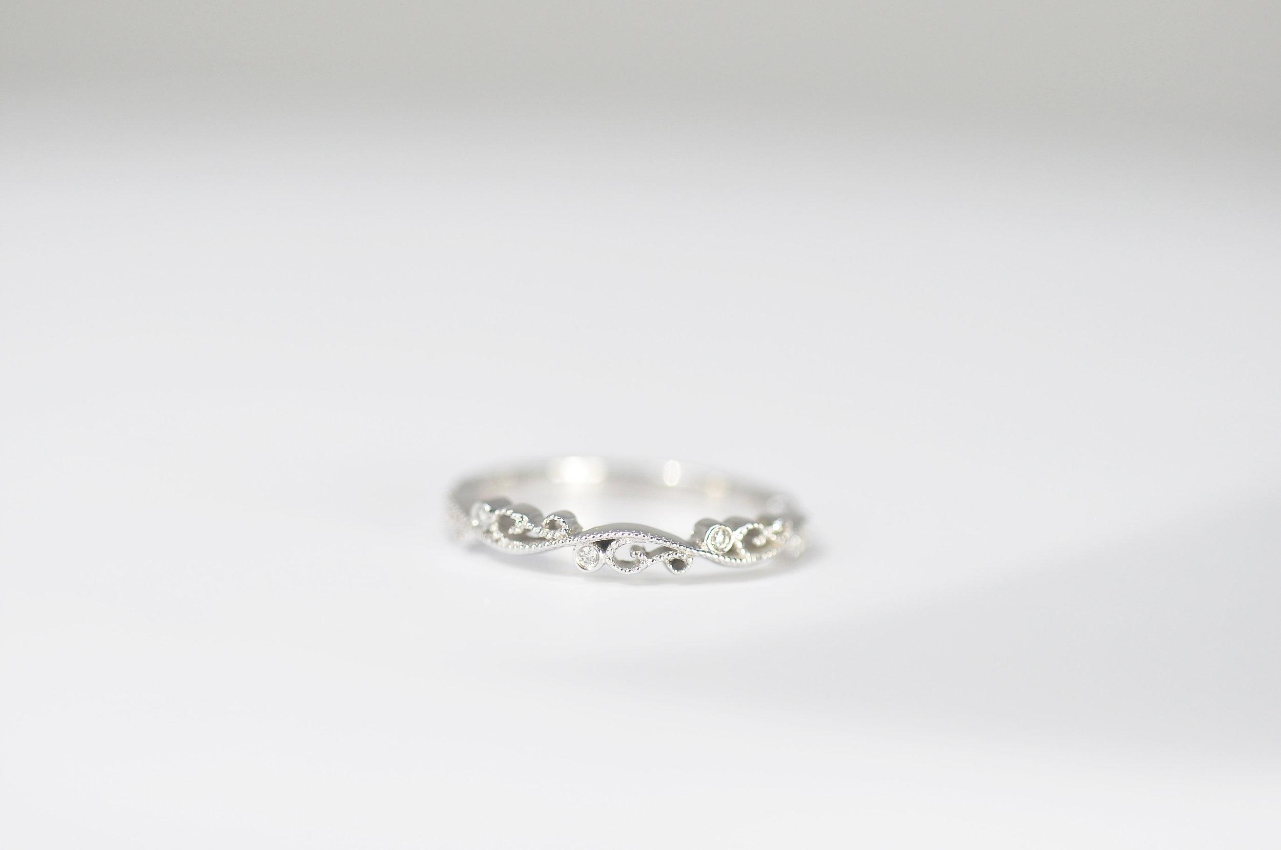 Custom Vintage Wedding Ring Toronto .JPG