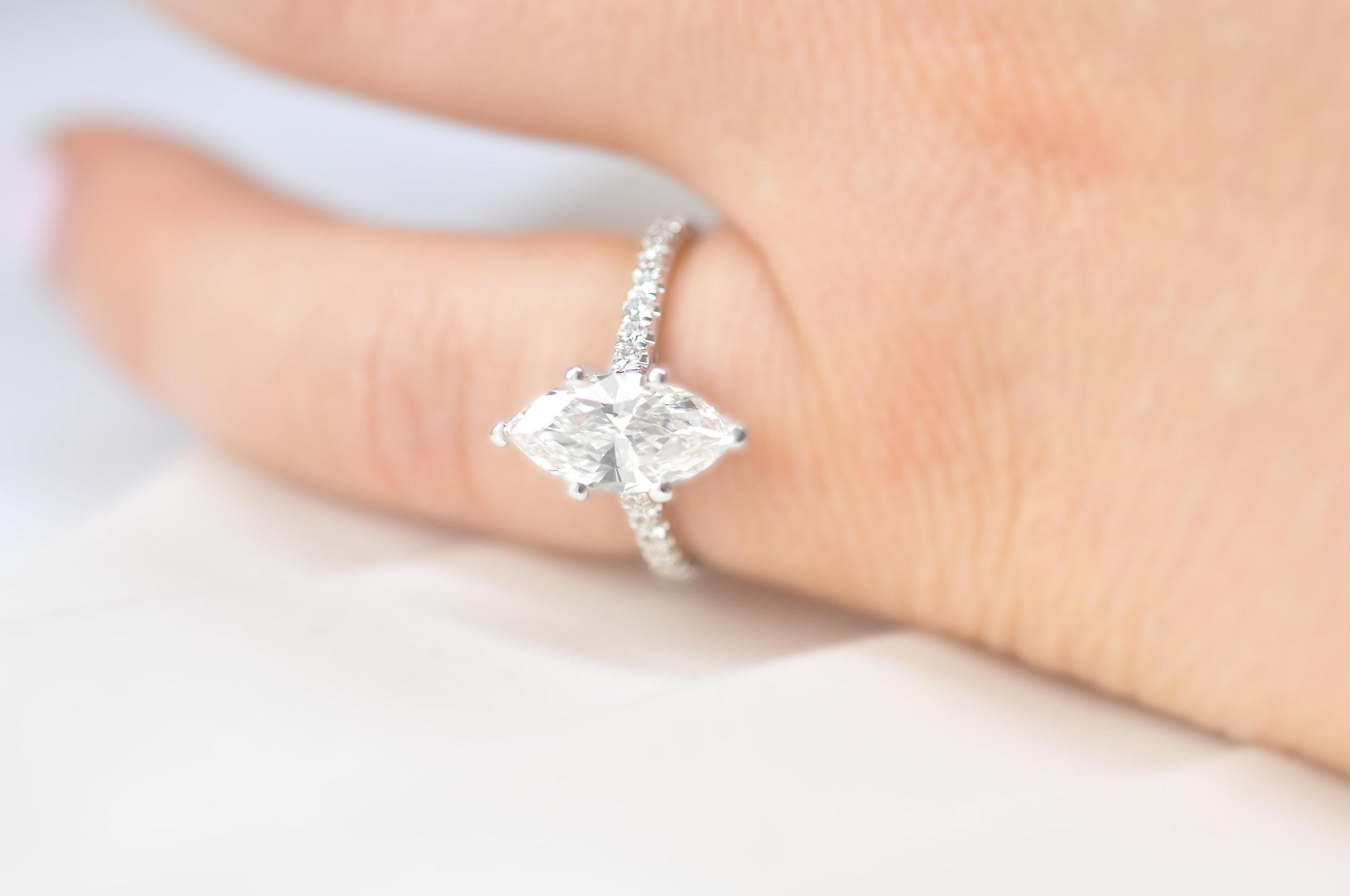 Marquise Diamond Engagement Ring Toronto .jpg