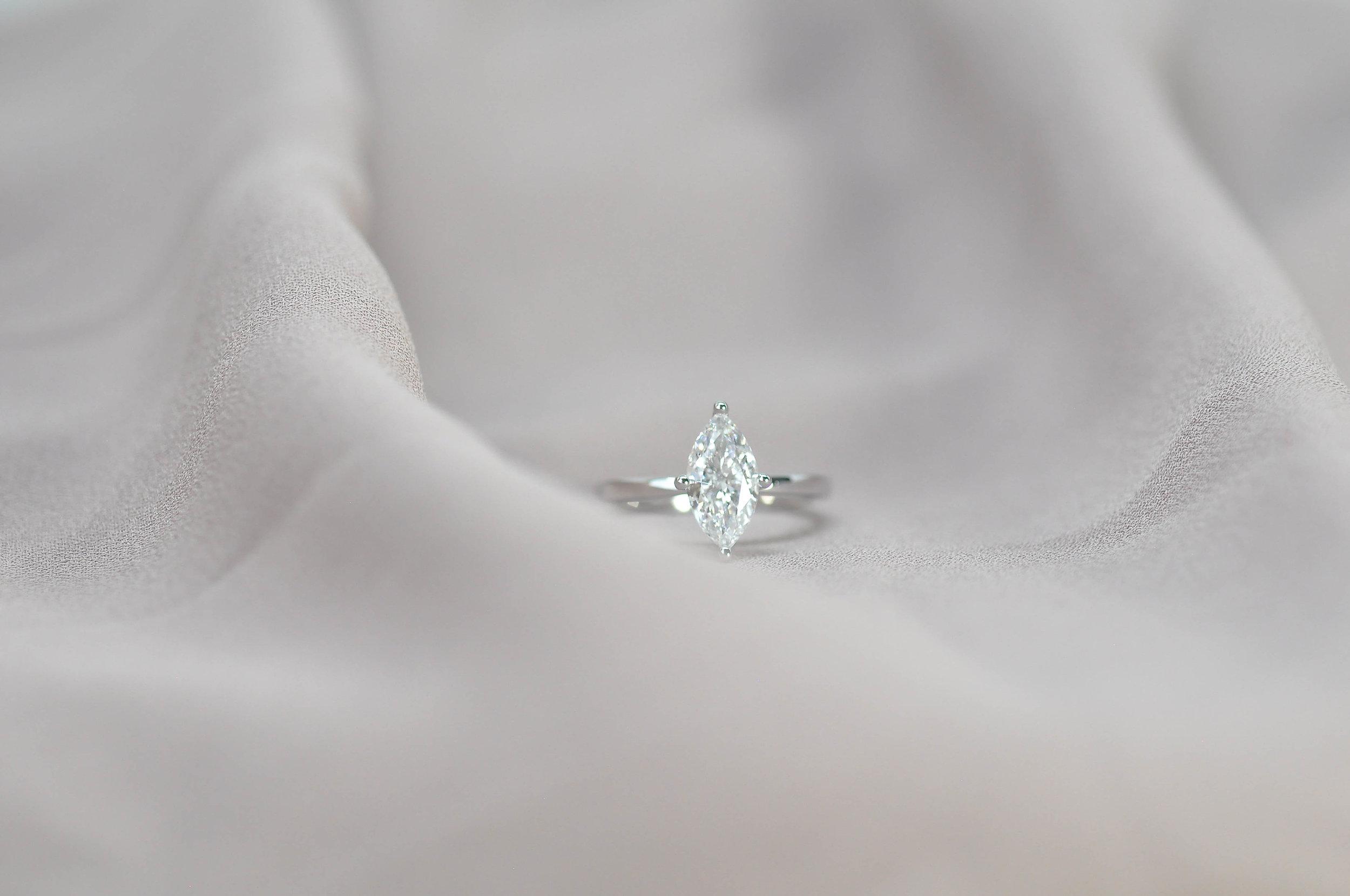 Custom Marquise Diamond Engagement Ring Toronto.jpg