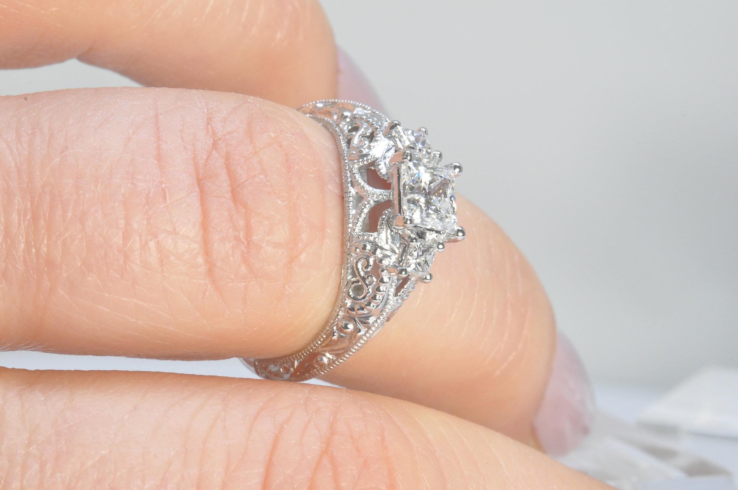Engraved Custom Engagement Ring Toronto.JPG