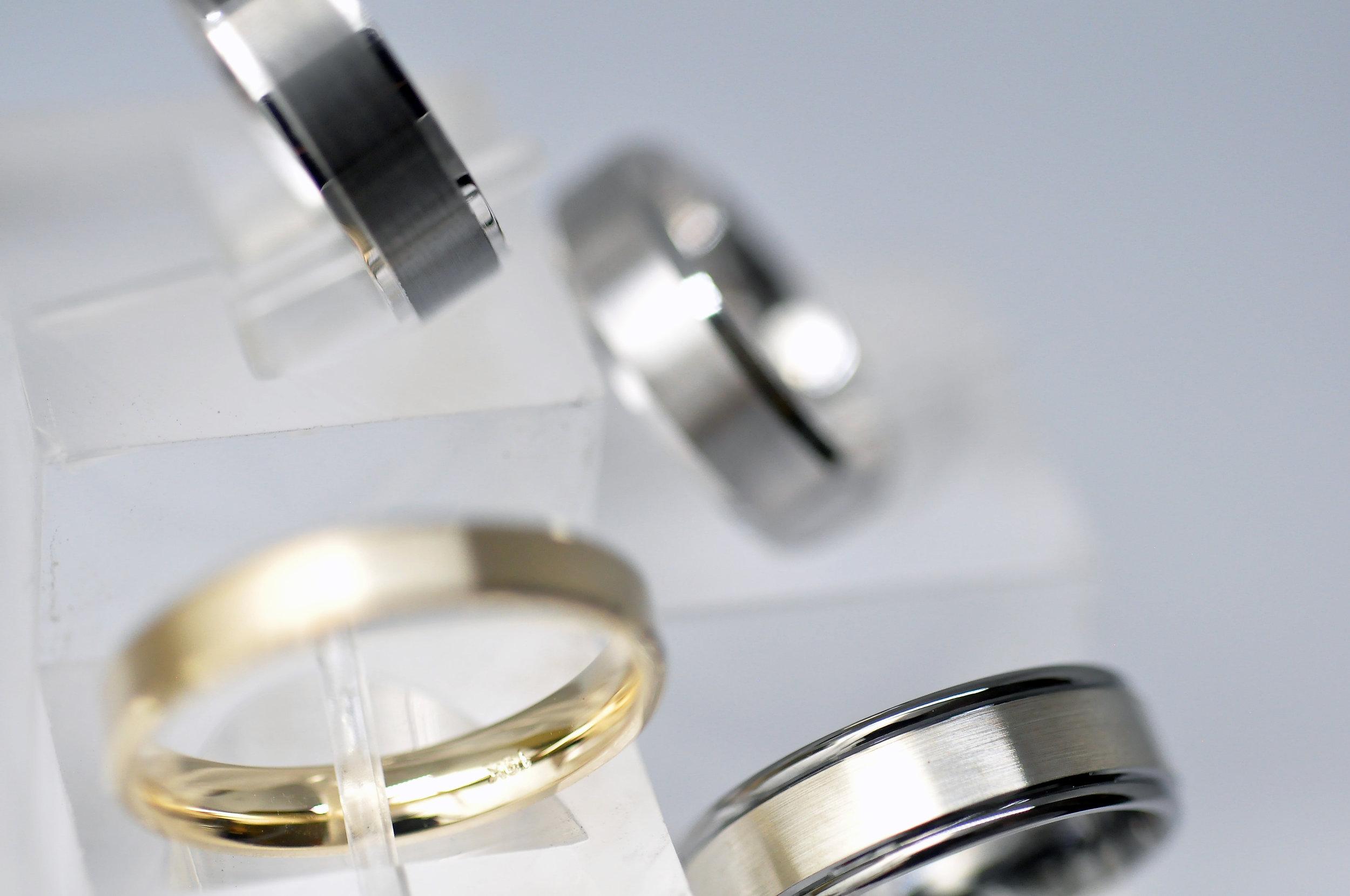 Men's Black Meteori Wedding Ring Toronto.jpg