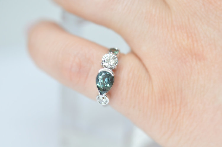 Difference Between Engagement And Wedding Ring.Alexis Gallery Custom Engagement Rings
