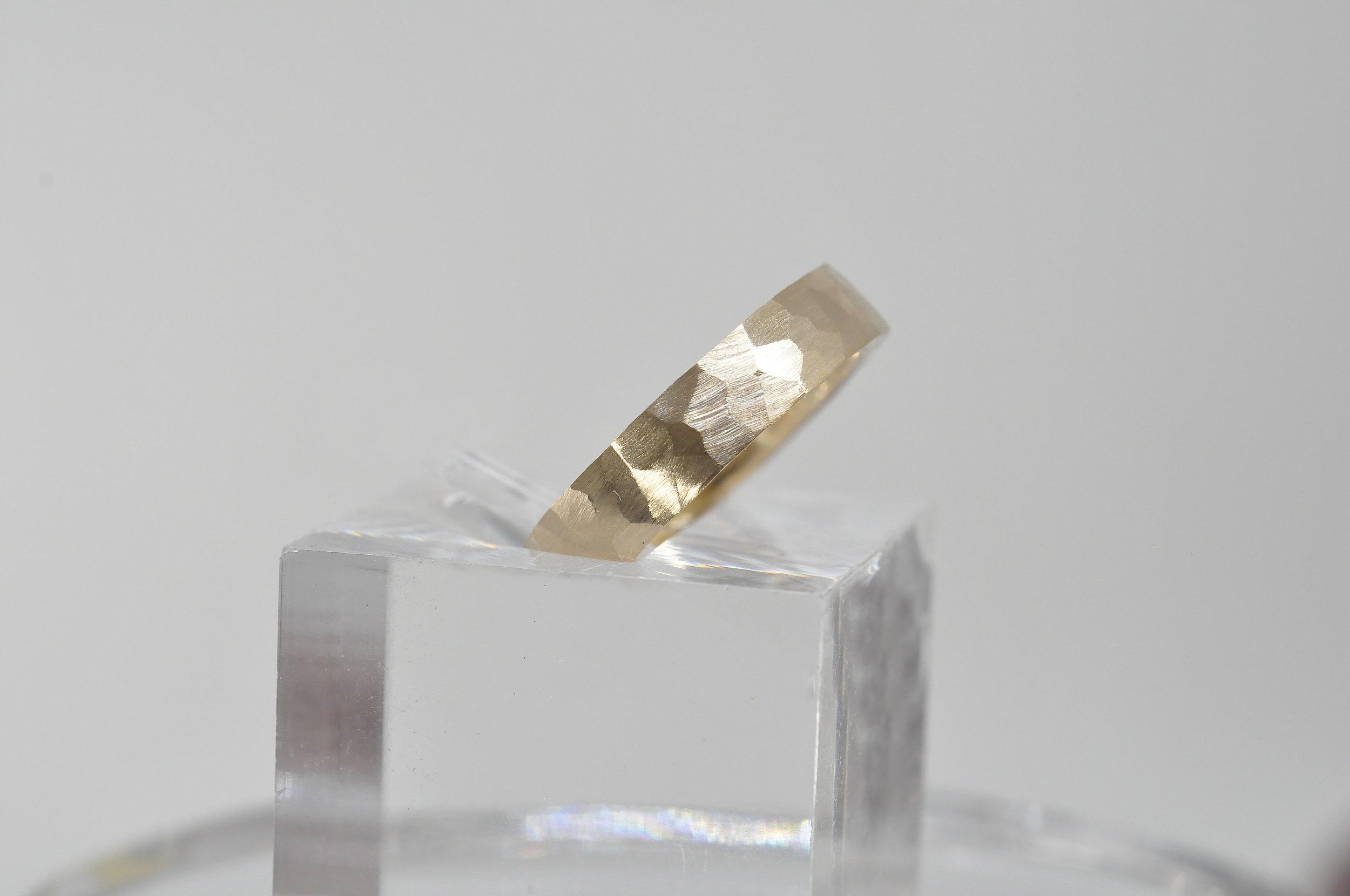 Hammered Wedding Ring Toronto.jpg