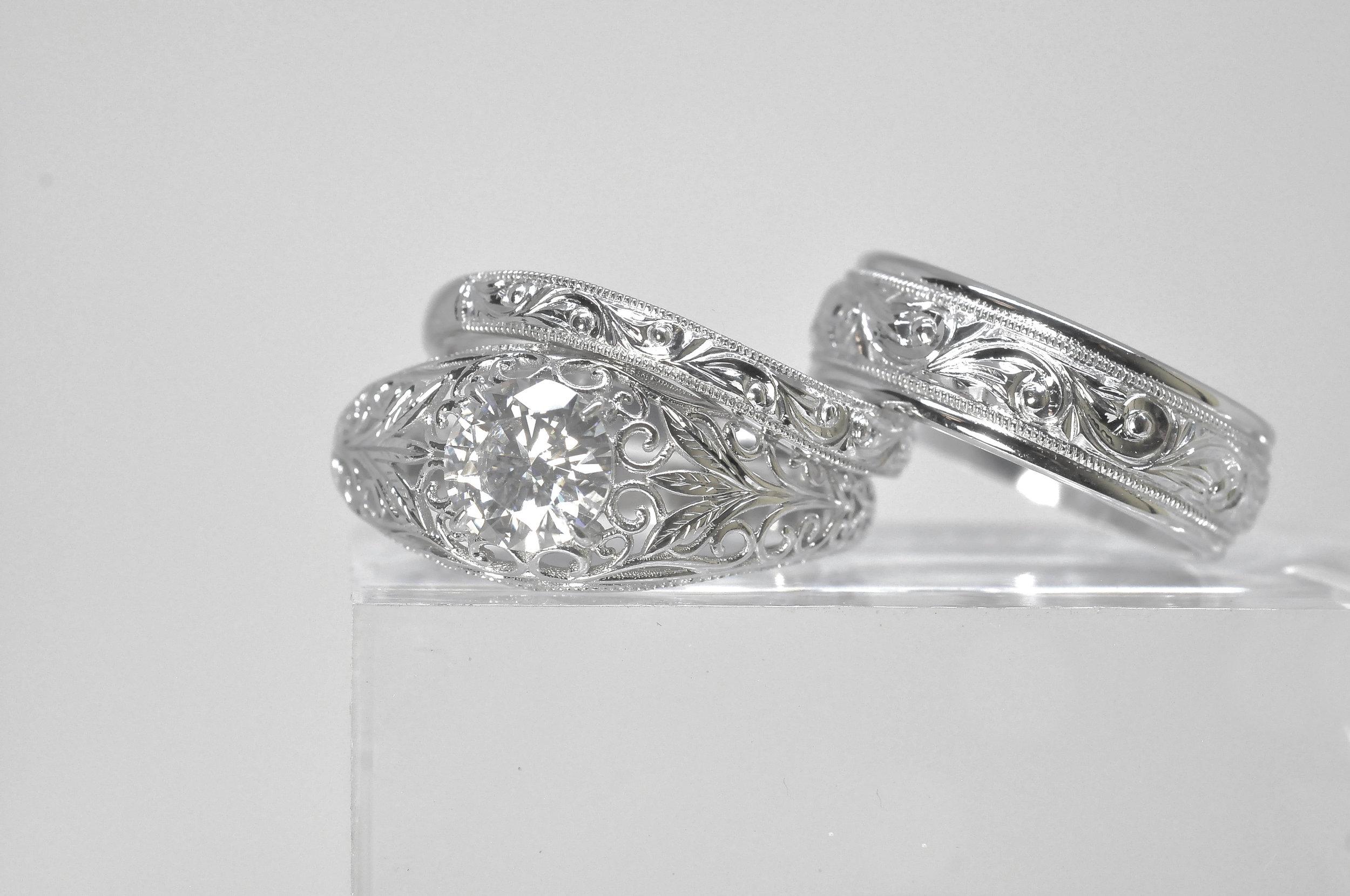 Hand Engraved Engagement Ring.jpg
