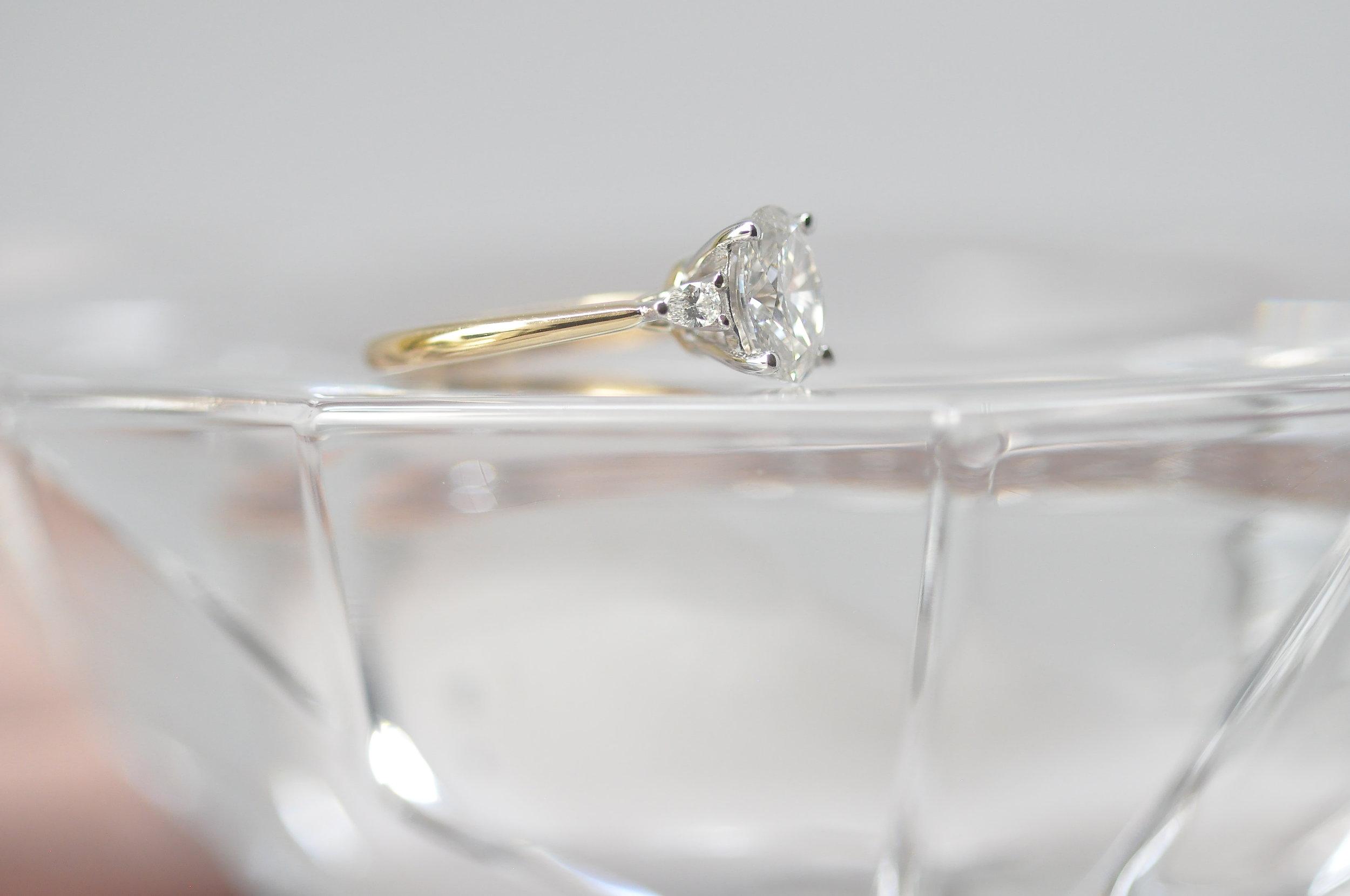 Oval Three Stone Engagement Ring Toronto.JPG