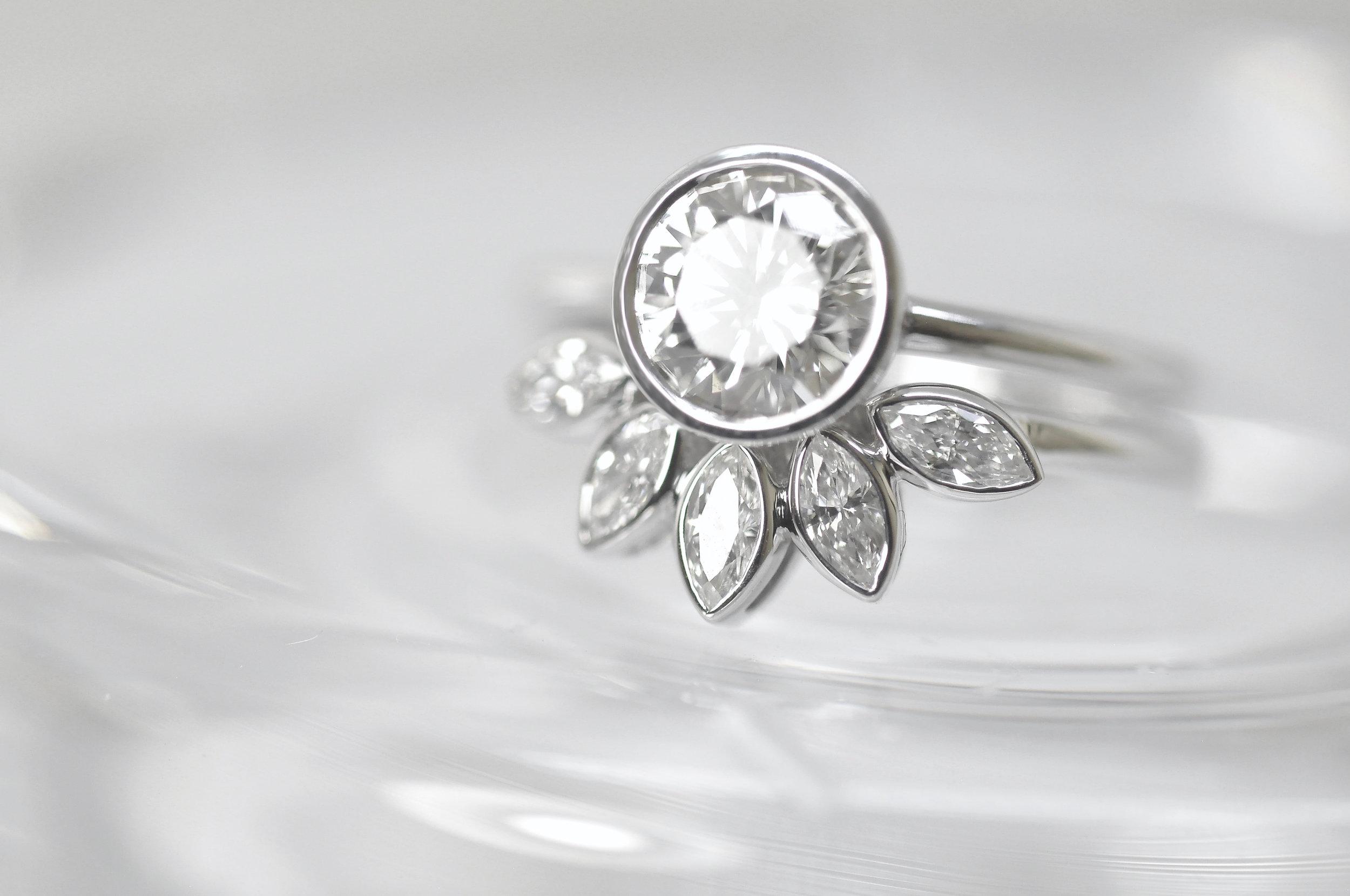 Custom Bezel Unique Engagement Ring Toronto.jpg