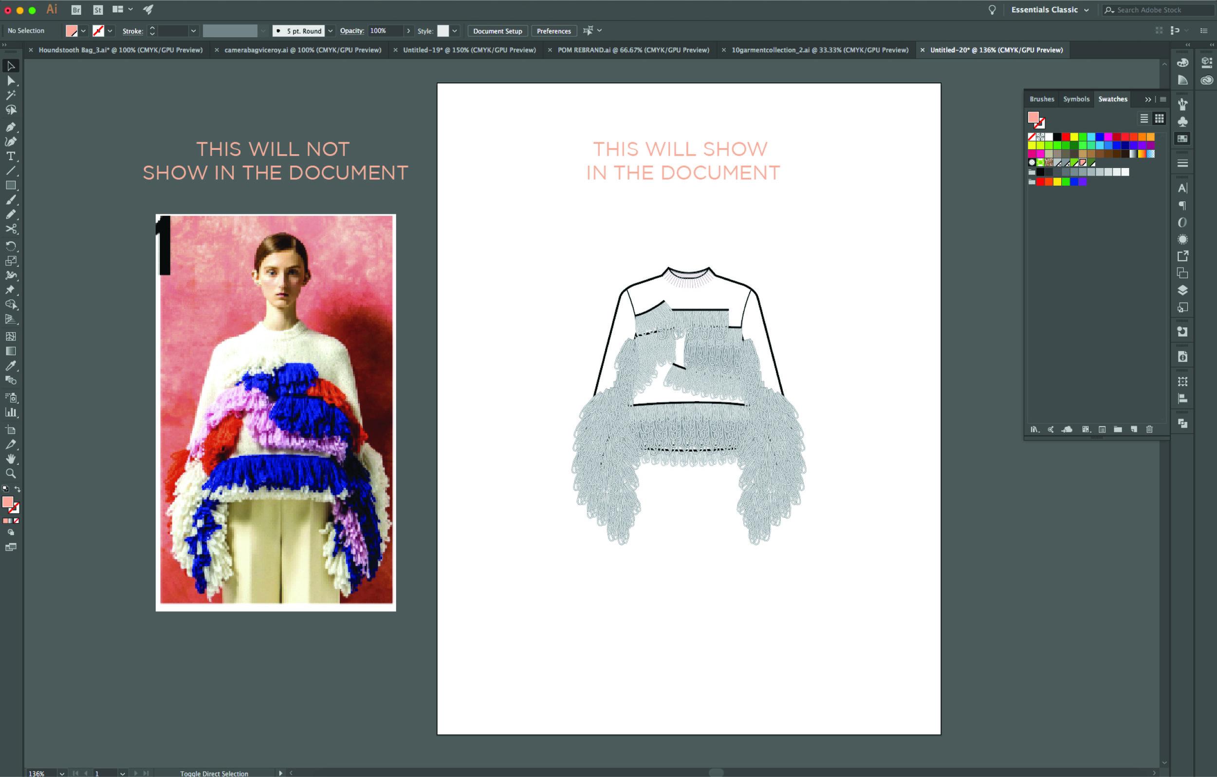 Illustrator Basics For Fashion Design Points Of Measure