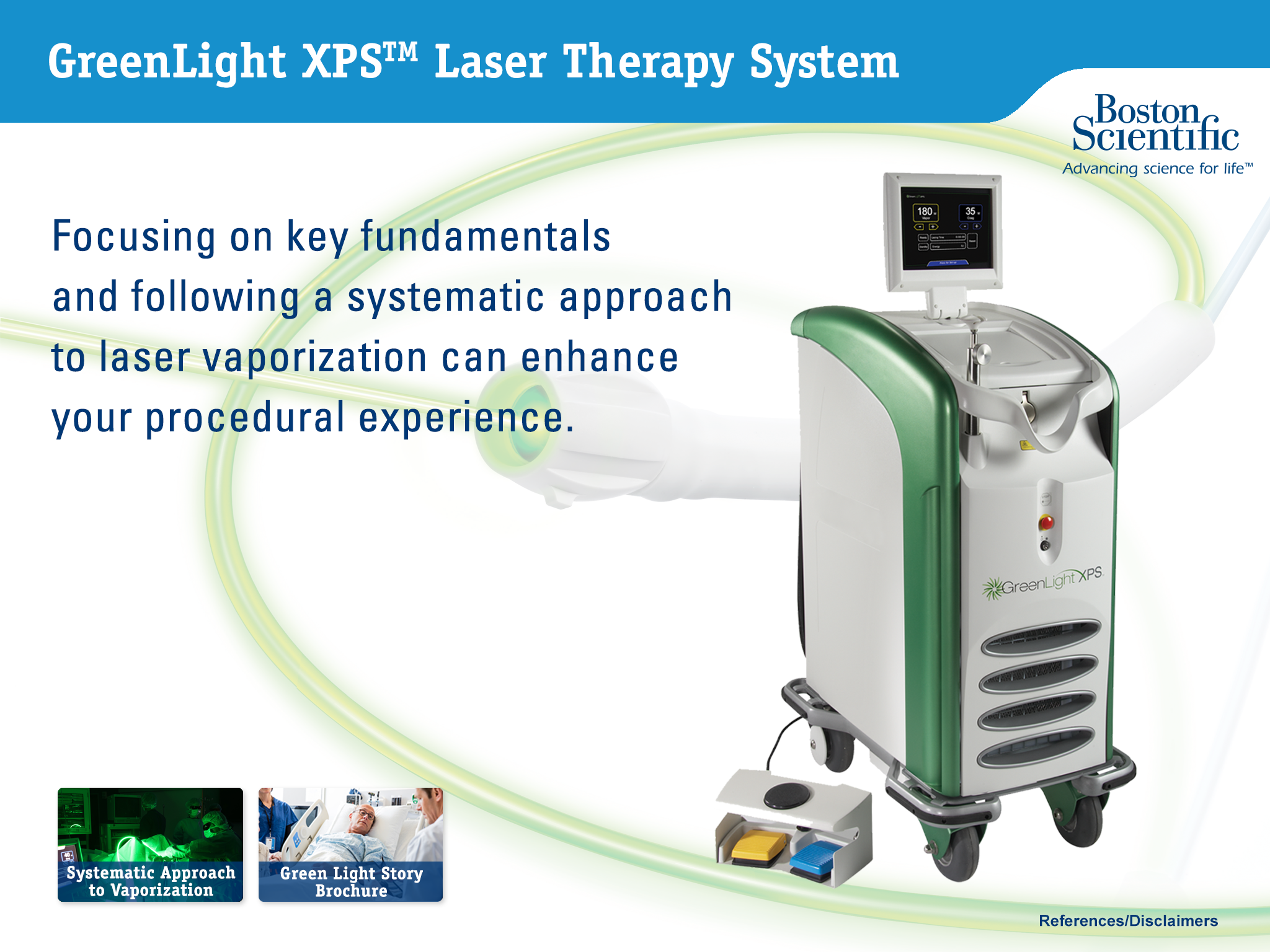 GreenLight XPS Laser Therapy System