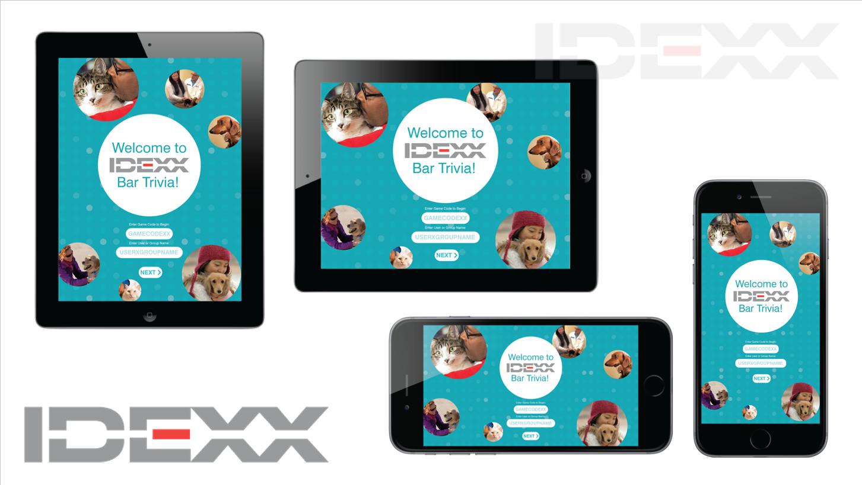 IDEXX Game App Opening Screen