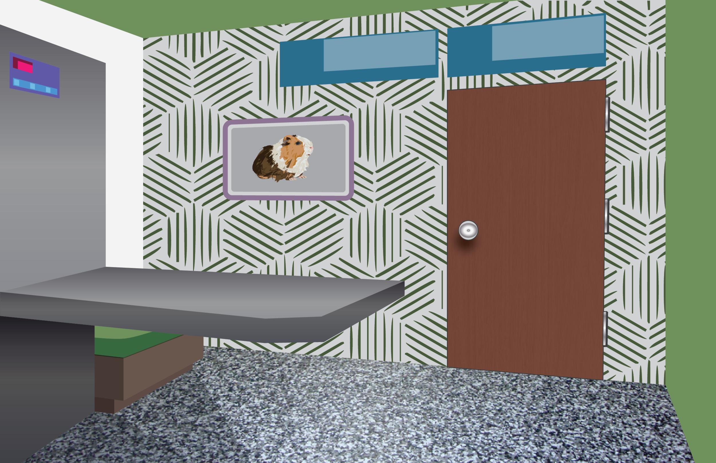 AR Vet Office Background
