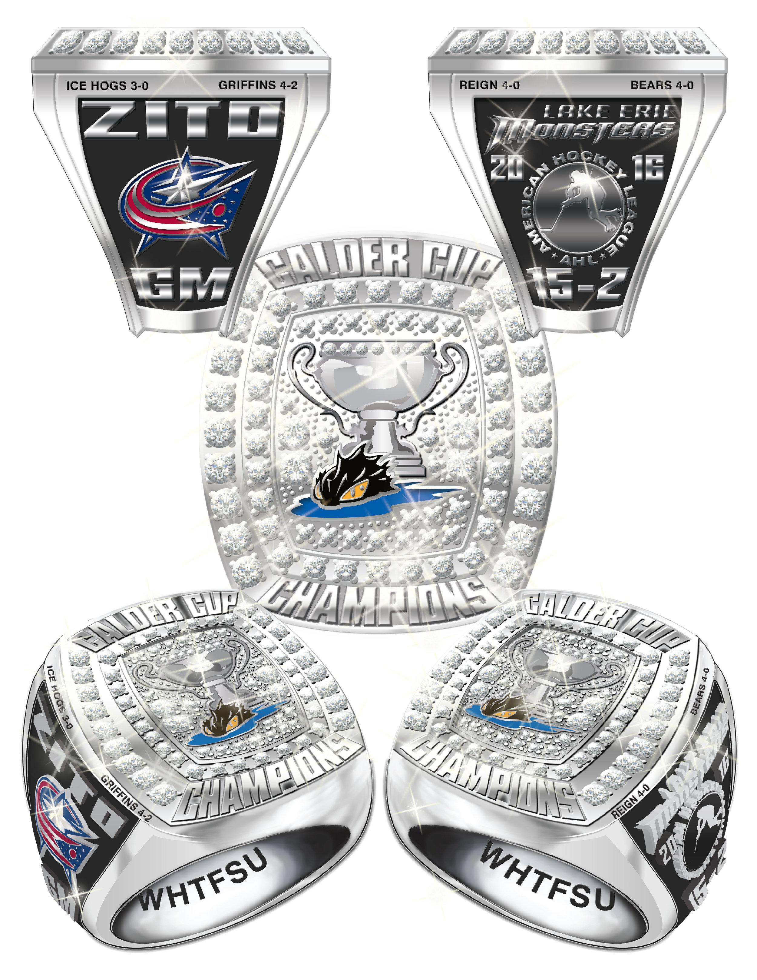 Hockey Champ Ring