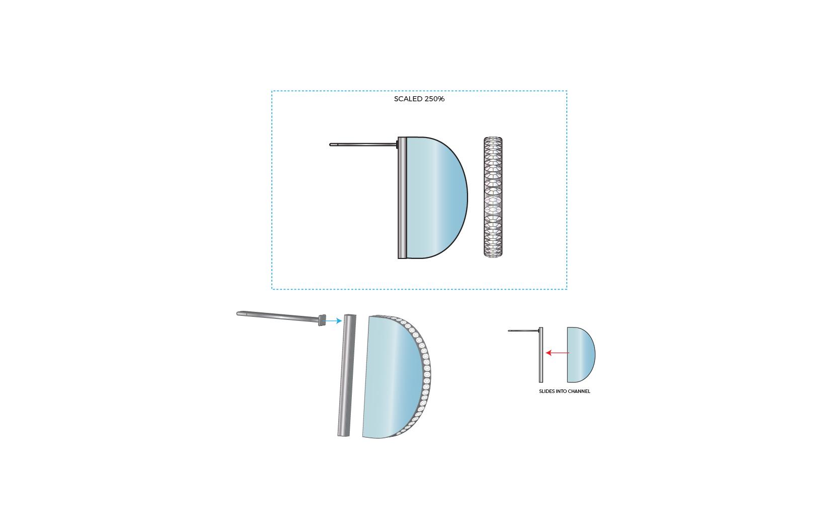 Sliding Earrings Concept B