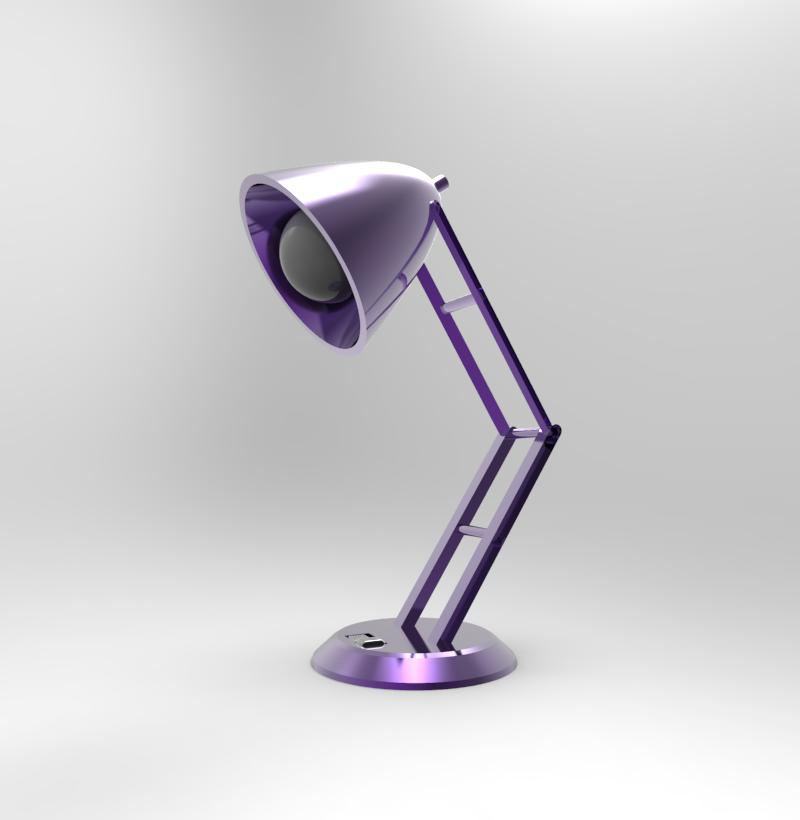 Purple Lamp - Off