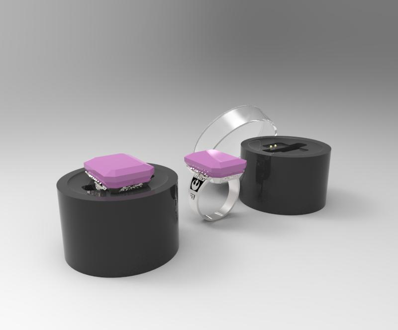 Metagem Smart Jewelry Class Ring Concept