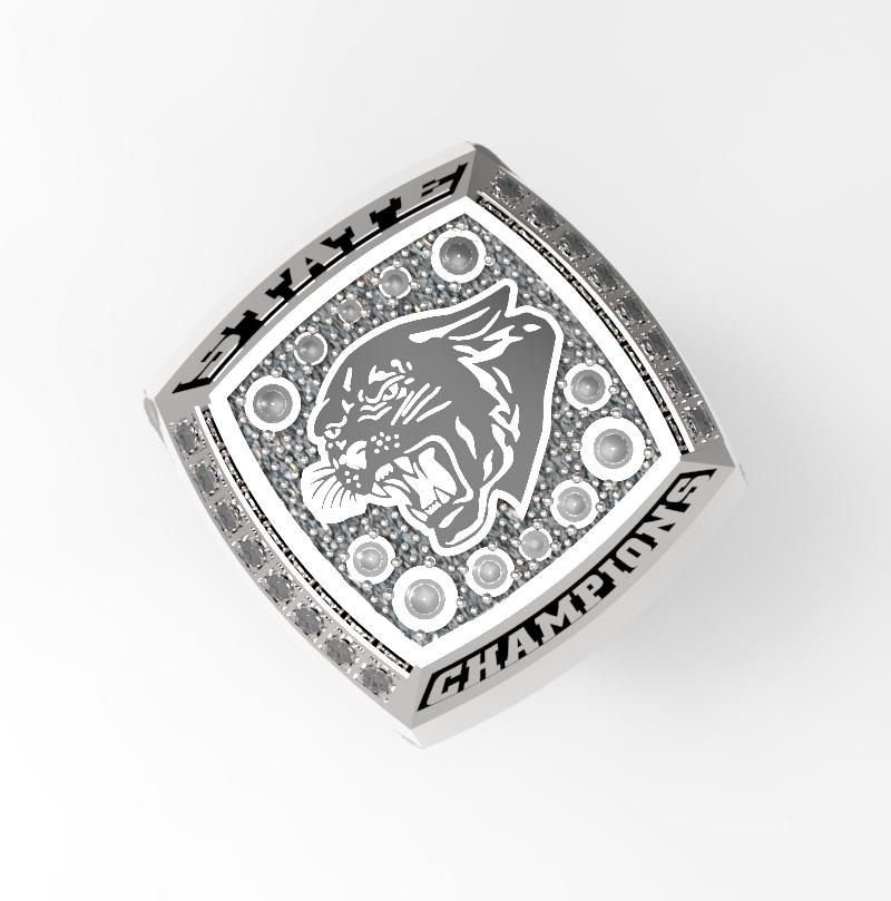 Football Ring - Top View