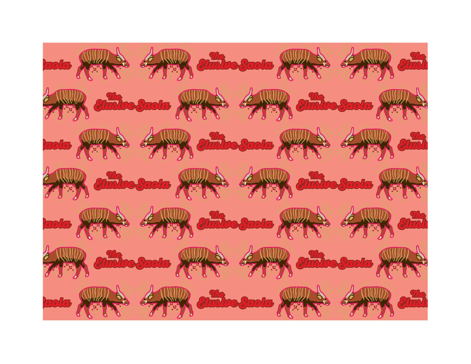 Saola Pattern