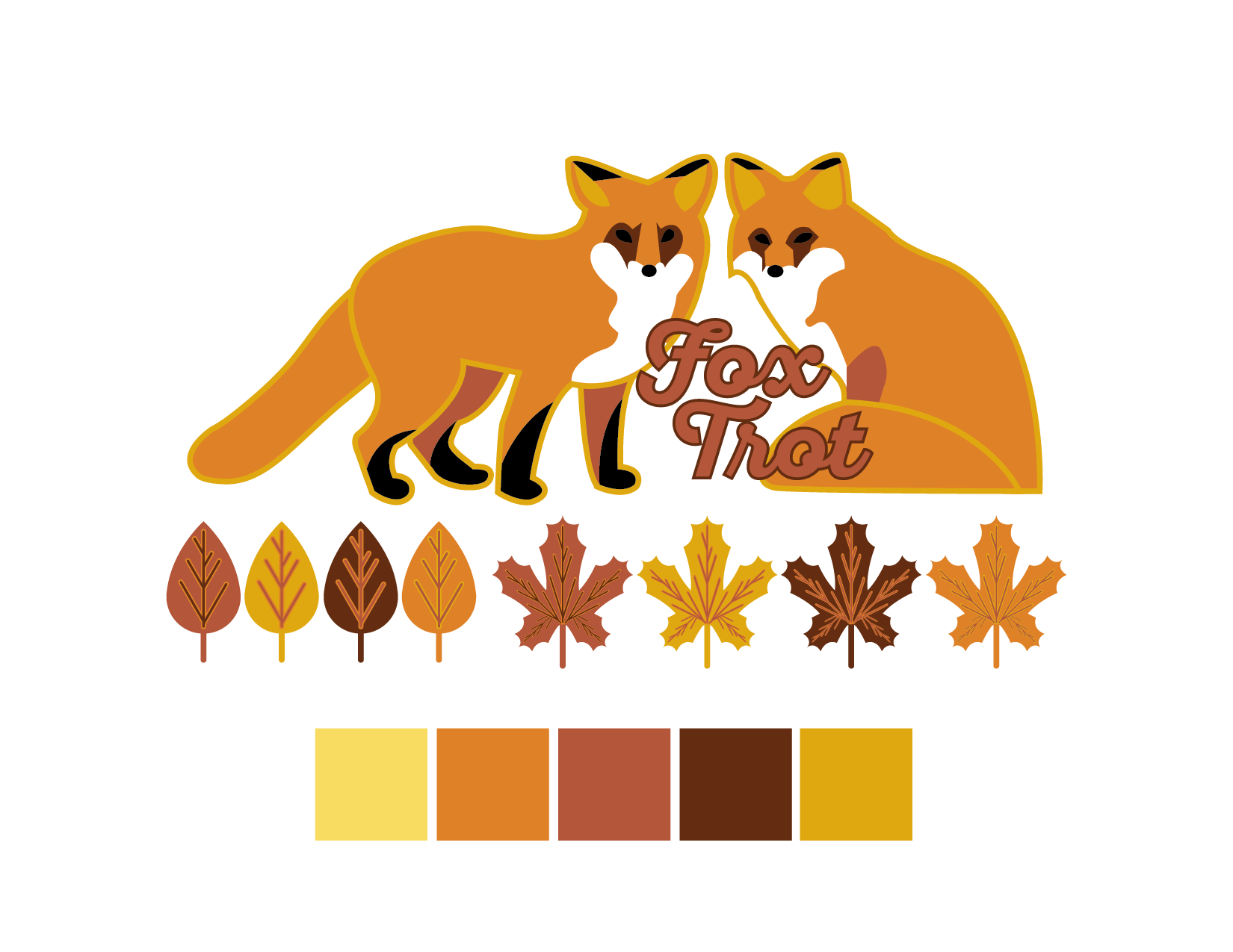 Fall Fox Color Palette