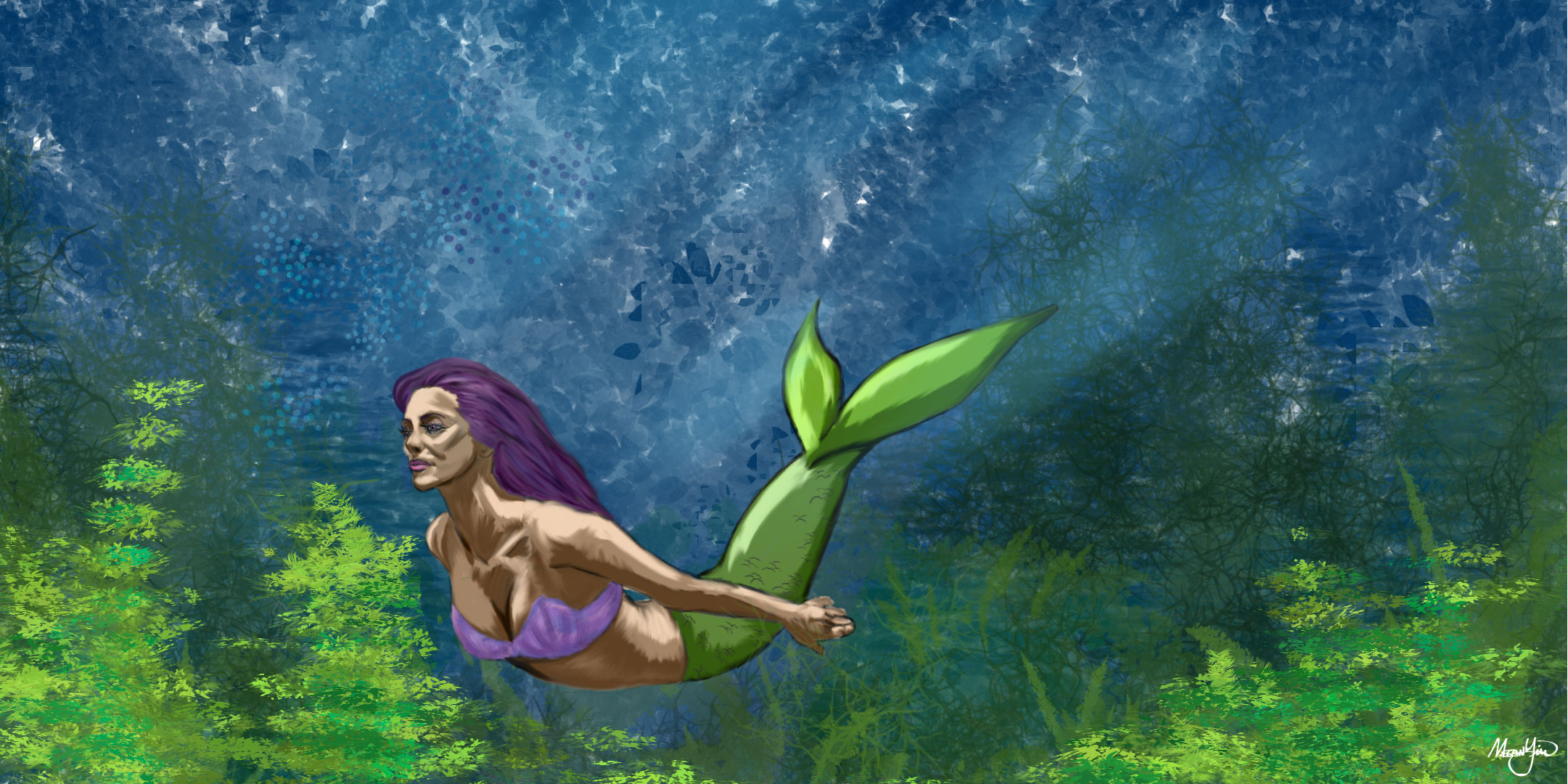Mermaid Digital Painting