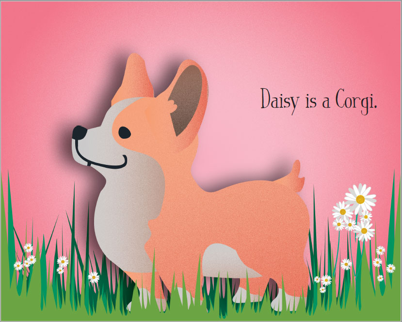 Daisy Is A Corgi