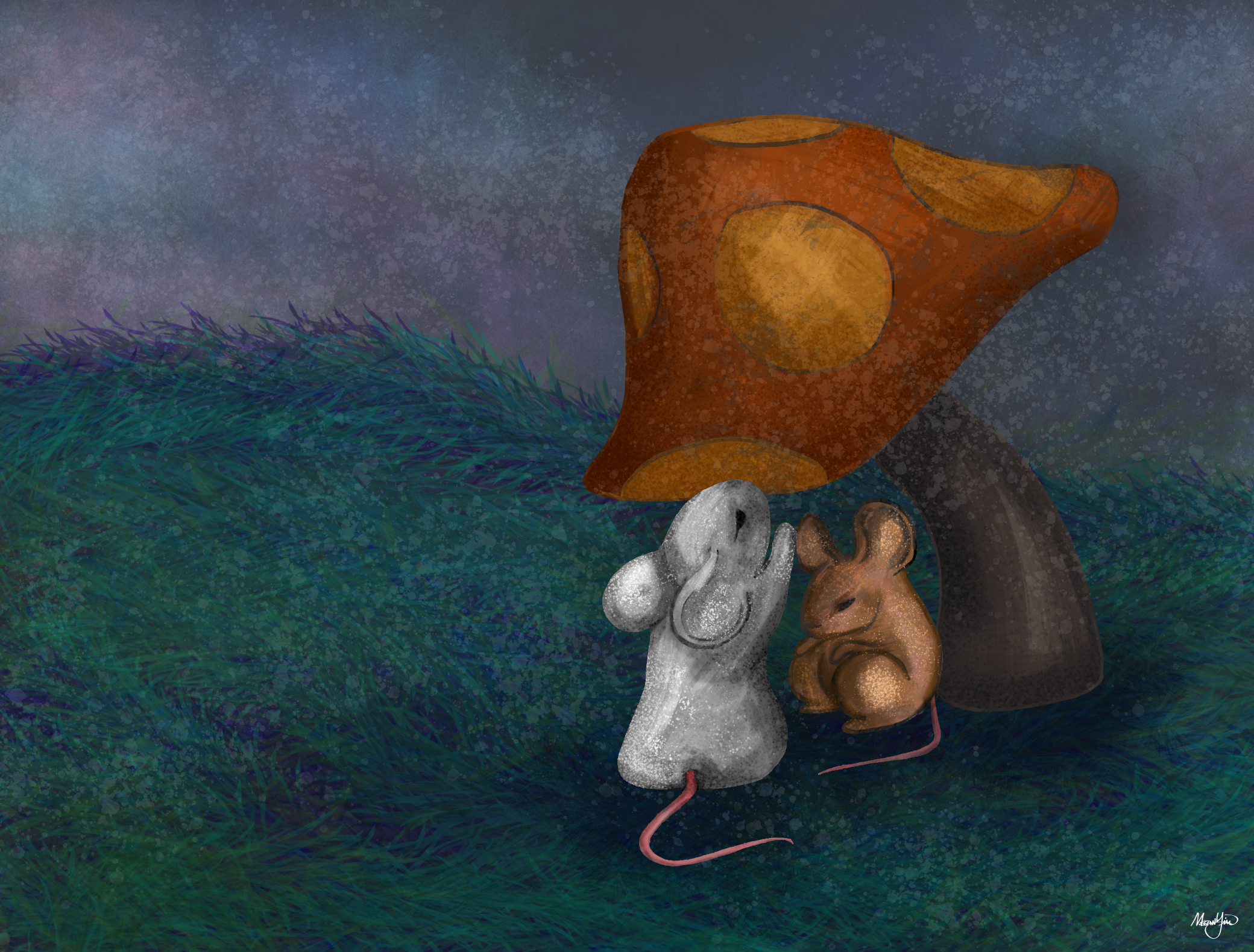The Mice and the Mushroom