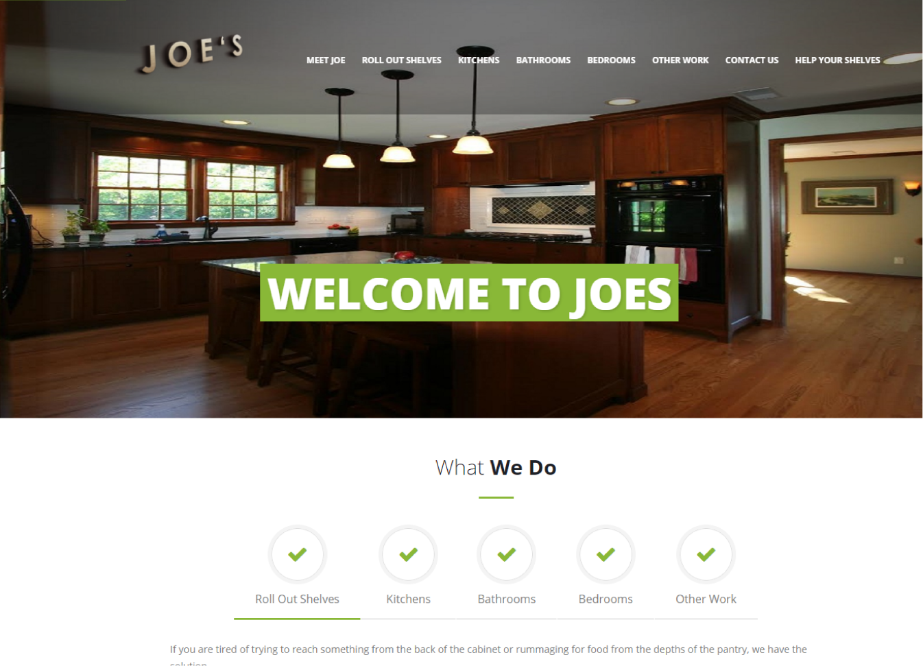Joe's Cabinetry