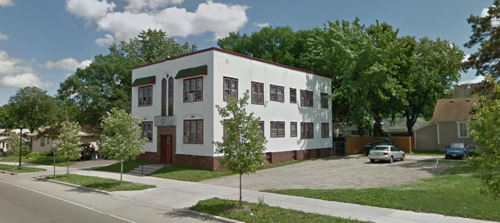 The Lowry Avenue Moo Apartment Building