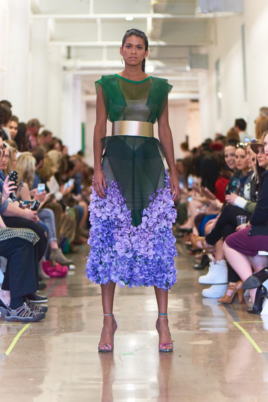 Look 1: Gabriella Kalema