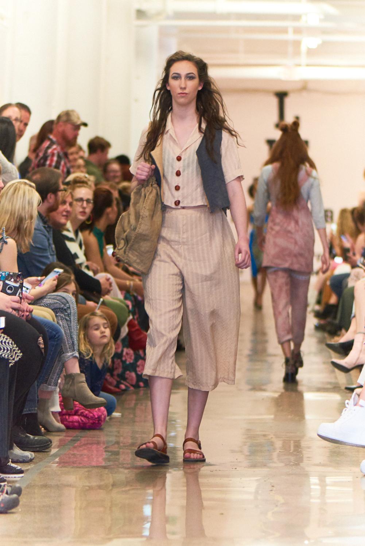 People's Choice Award Winner:Designer: Erin ConnersIowa State University - Designing her look utilizing