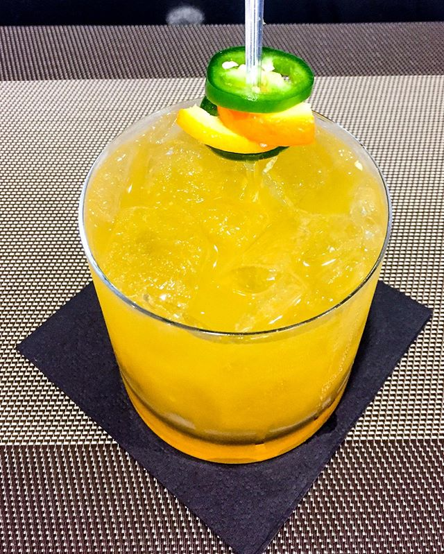 These cold temps got you down? We suggest our Blast Furnace cocktail, which includes a heat-inducing housemade jalapeno-infused rye along with OJ, grated ginger, ginger soda and a jalapeno slice for added warmth.
