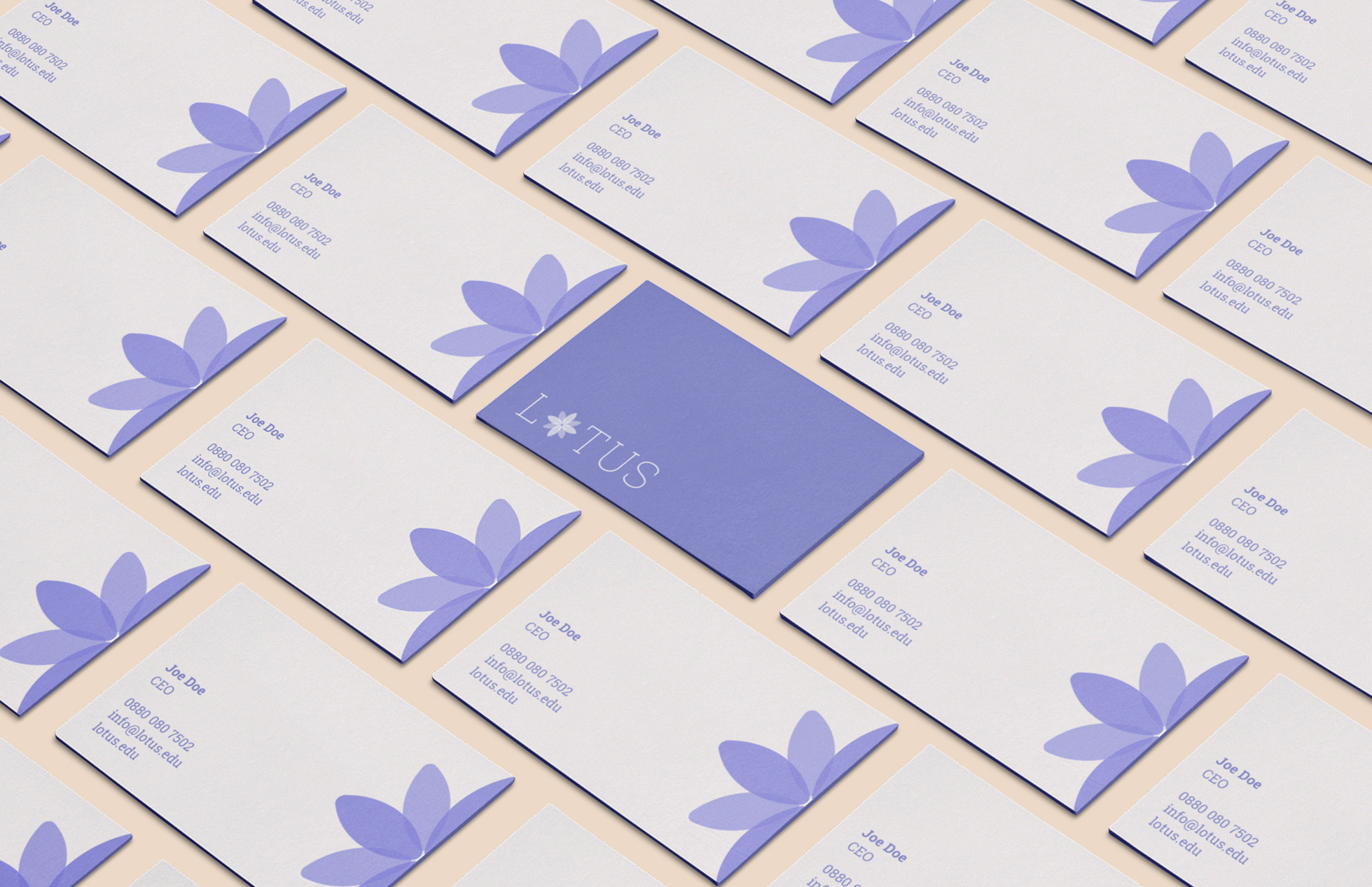 Brand Identity for Lotus ― Wellbeing Community