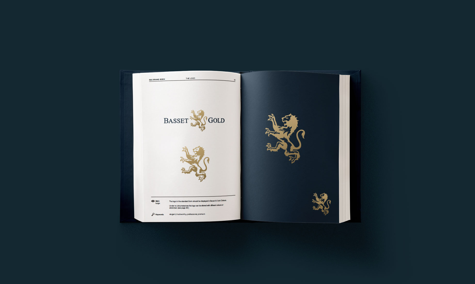 Rebrand for Basset & Gold — Financial Service
