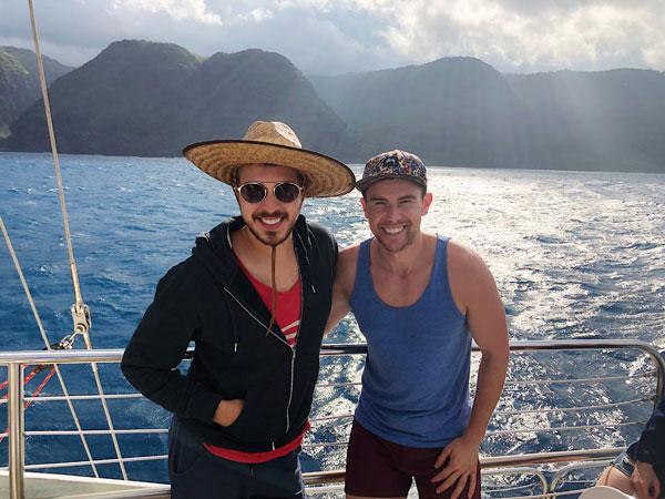 Na Pali Coast catamaran tour