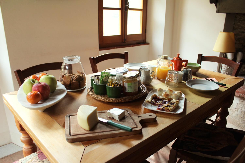 Almora B&B - Our Breakfast