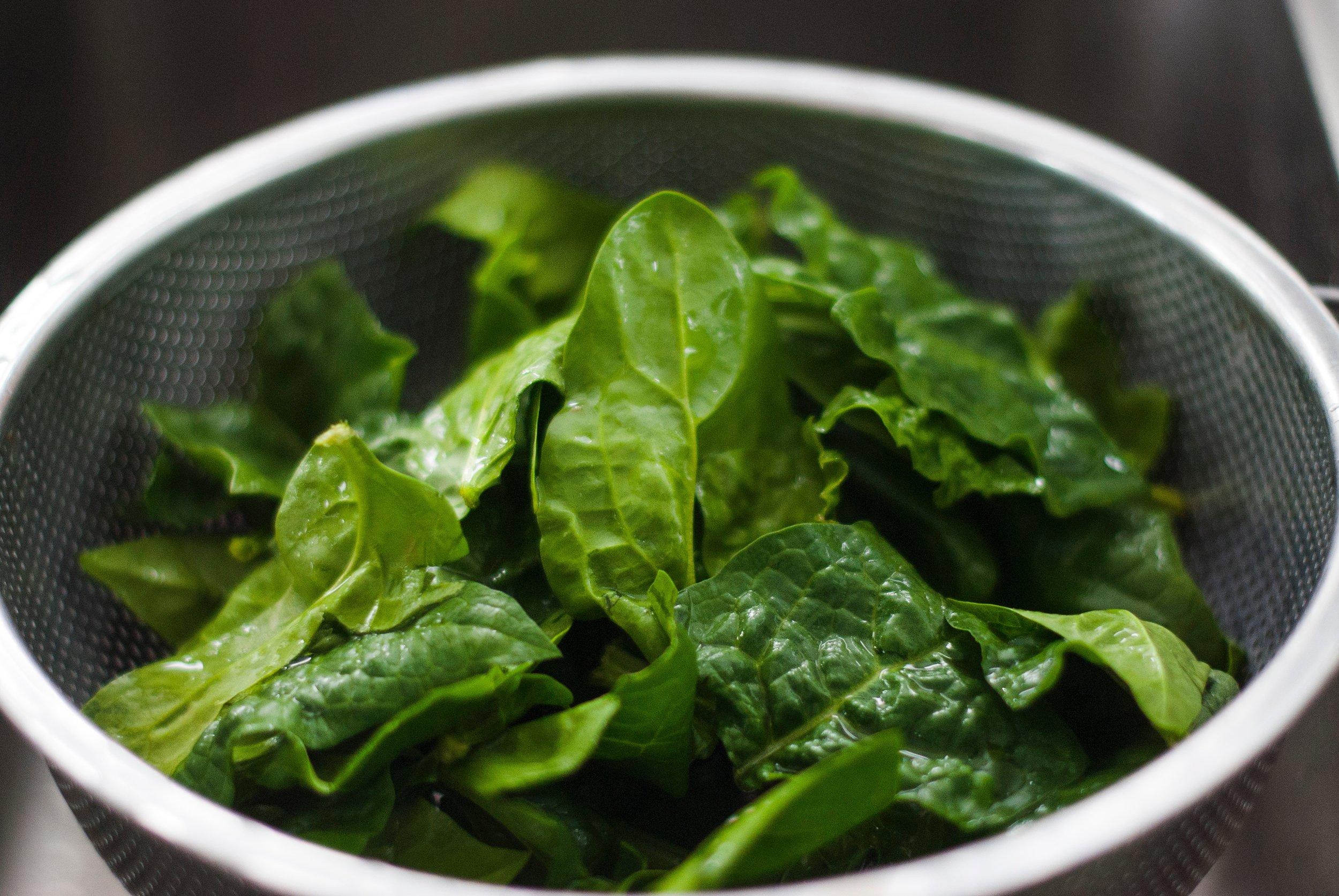 2. Spinach -