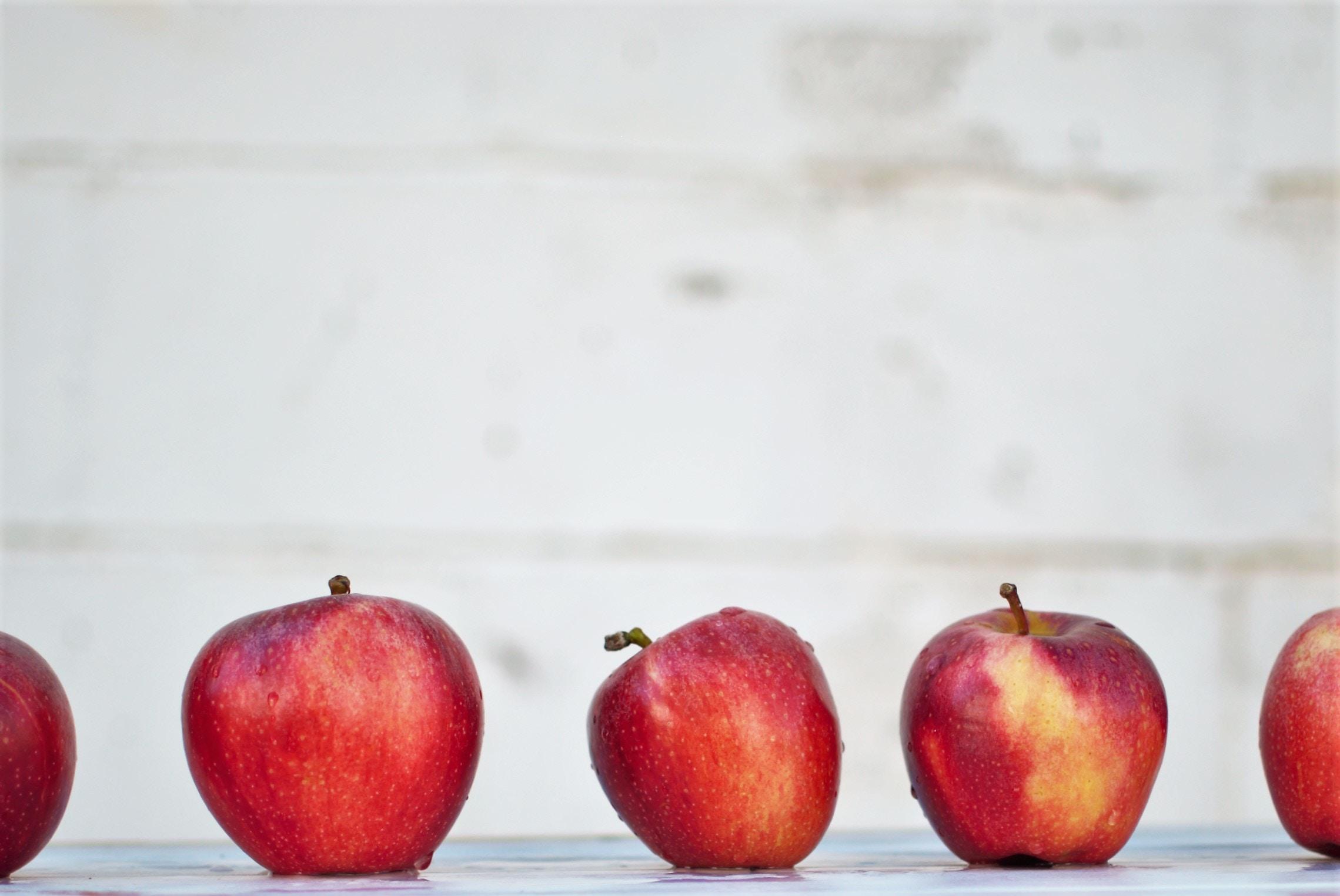 5. Apples -