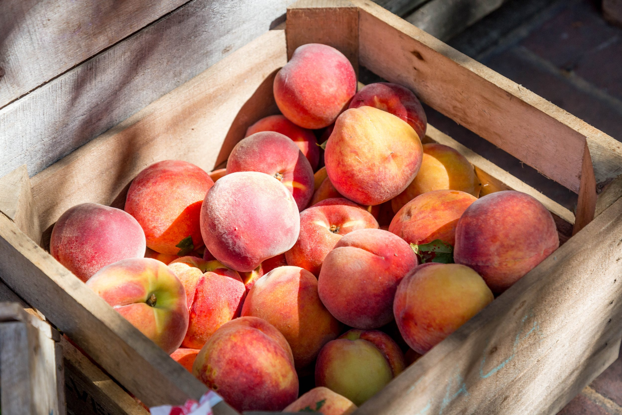 7. Peaches -