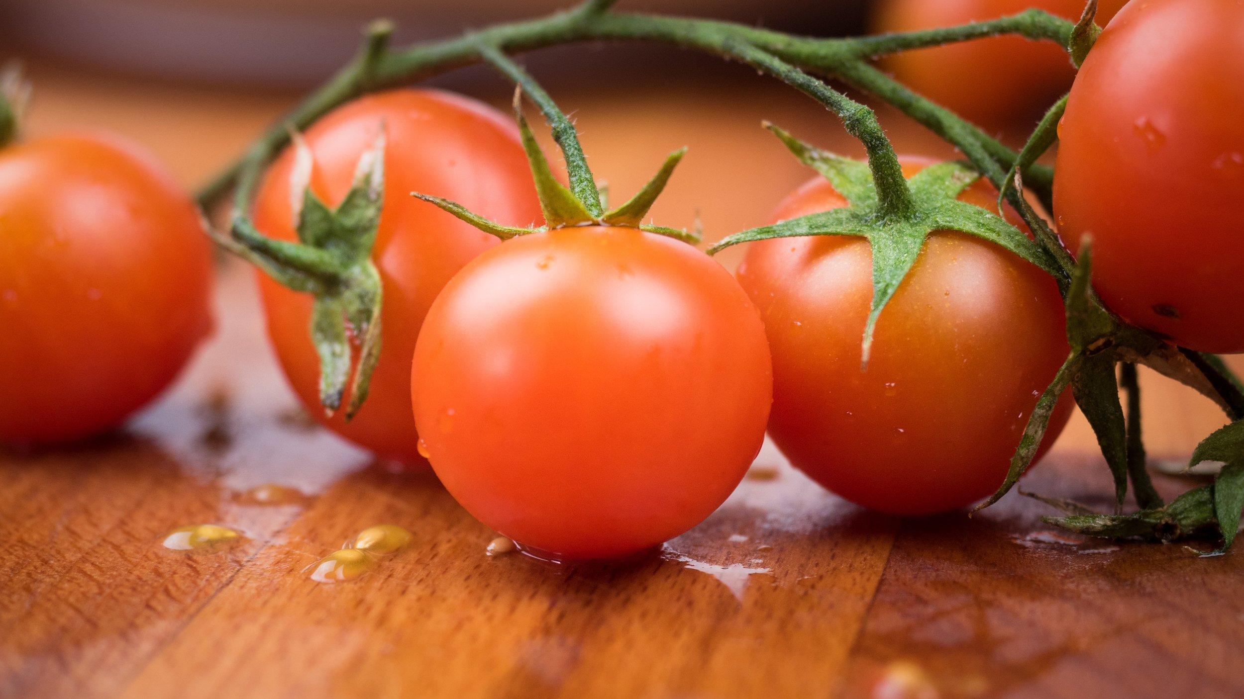 10. Tomatoes -