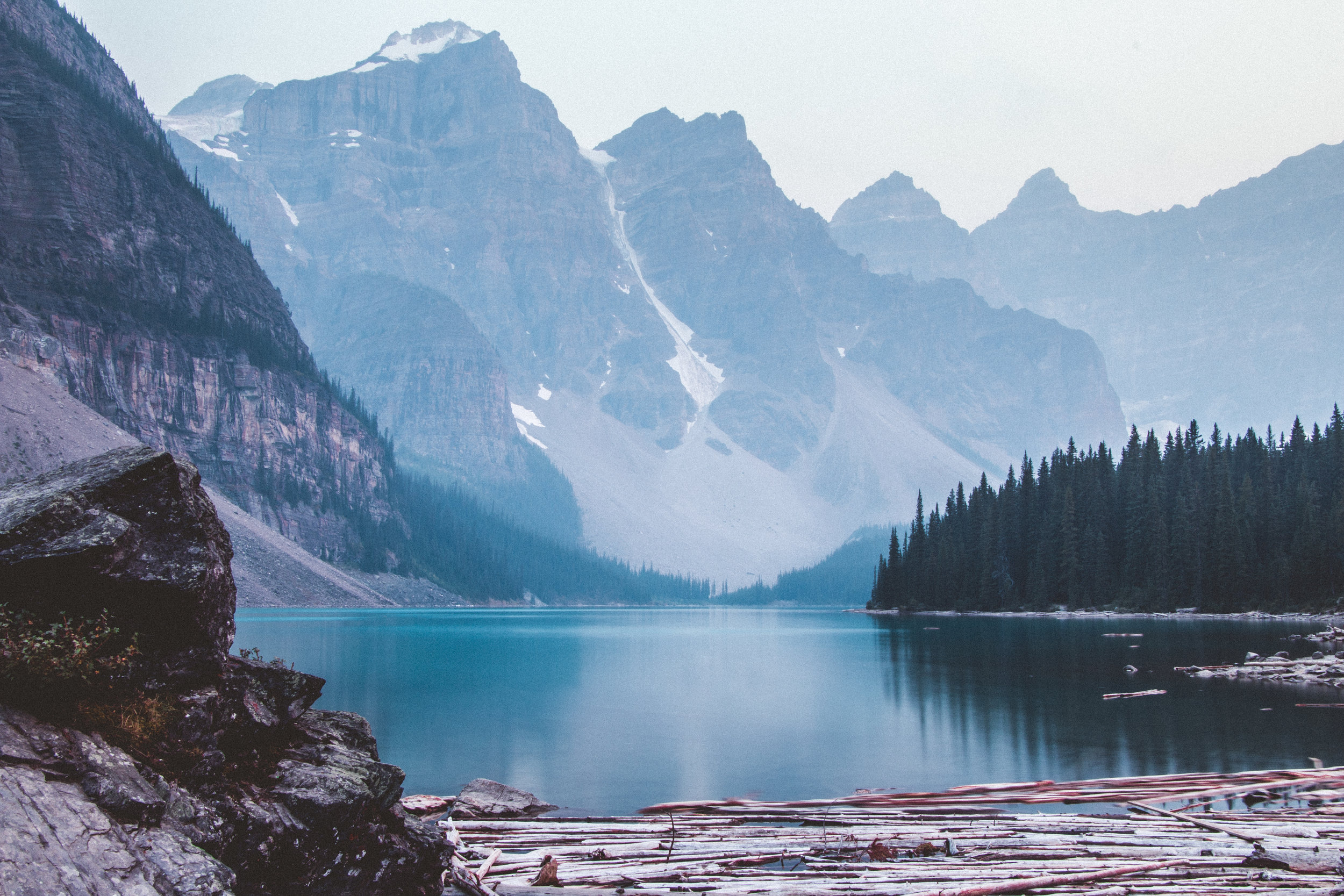 Lake Moraine. Photo by  SLRInfinity.