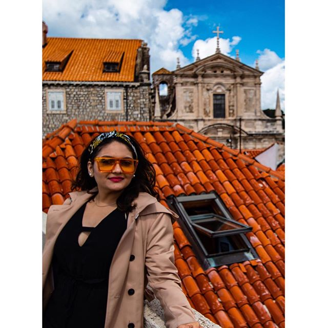 Beautiful Croatia ft my silly shades 😎! 📸 @slr_infinity . . #red #croatia #travelling #adventure #dubrovnik #photooftheday #annoying6tilepost #gameofthrones #unmatchedbeauty #kingslanding #beauty #historic #travelblogger #whenindianstravel #travelmindset #happymindset #happy #dress #nightphotography #sunset #summer #chinmayadave #myindianroots