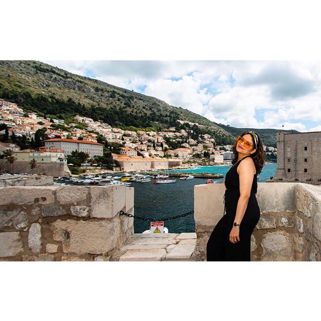 Beautiful Croatia ft my silly shades 😎! 📸 @slr_infinity . . #red #croatia #travelling #adventure #dubrovnik #photooftheday #annoying6tilepost #gameofthrones #unmatchedbeauty #kingslanding #beauty #historic #travelblogger #whenindianstravel #travelmindset #happymindset #happy #dress #nightphotography #sunset #browngirls #browngirlstravel #chinmayadave #myindianroots