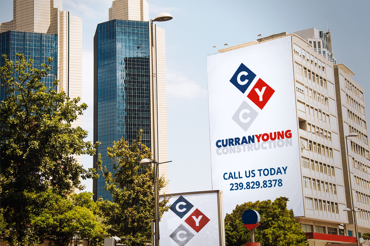Curran young Construction Billboard