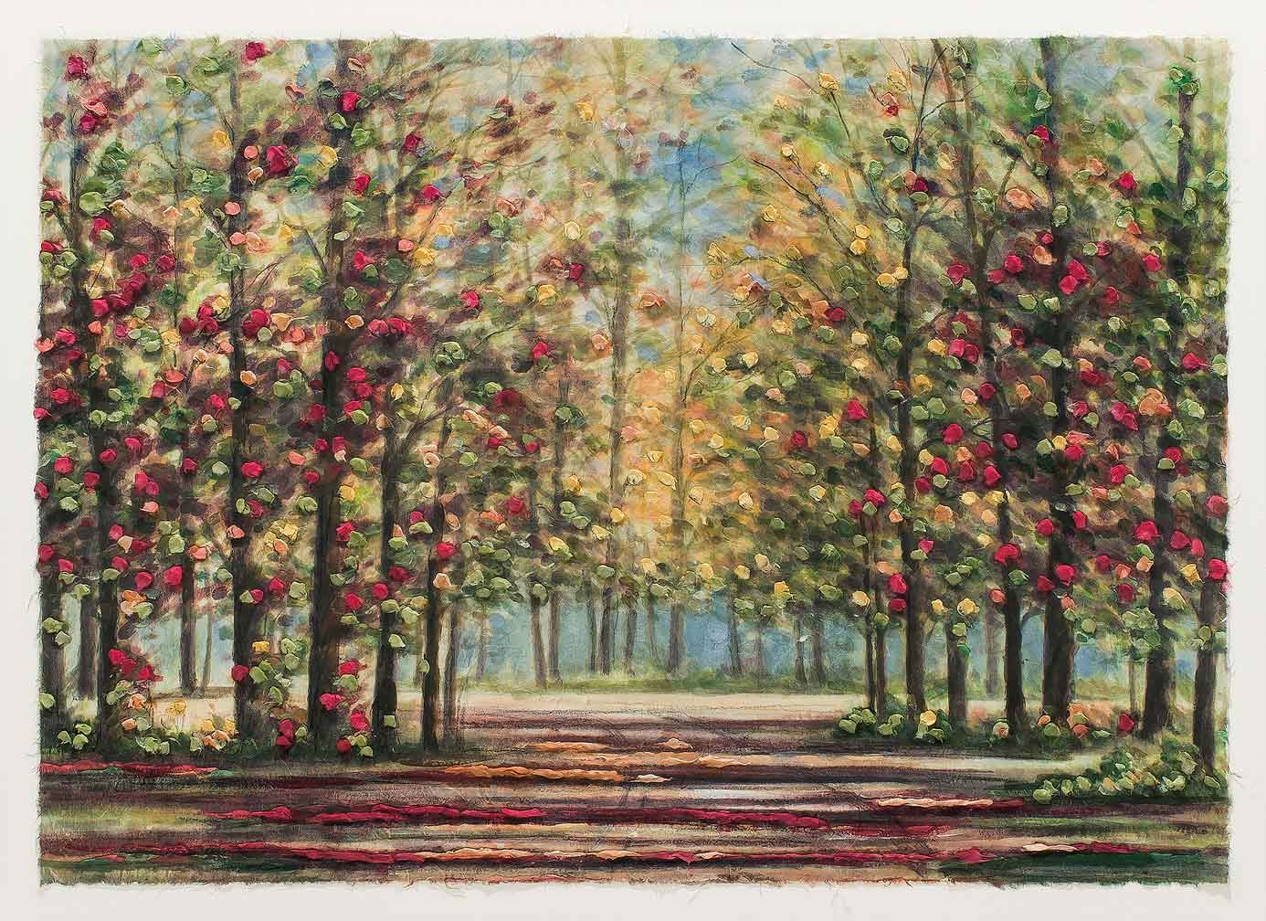 Autumn Road 11x14