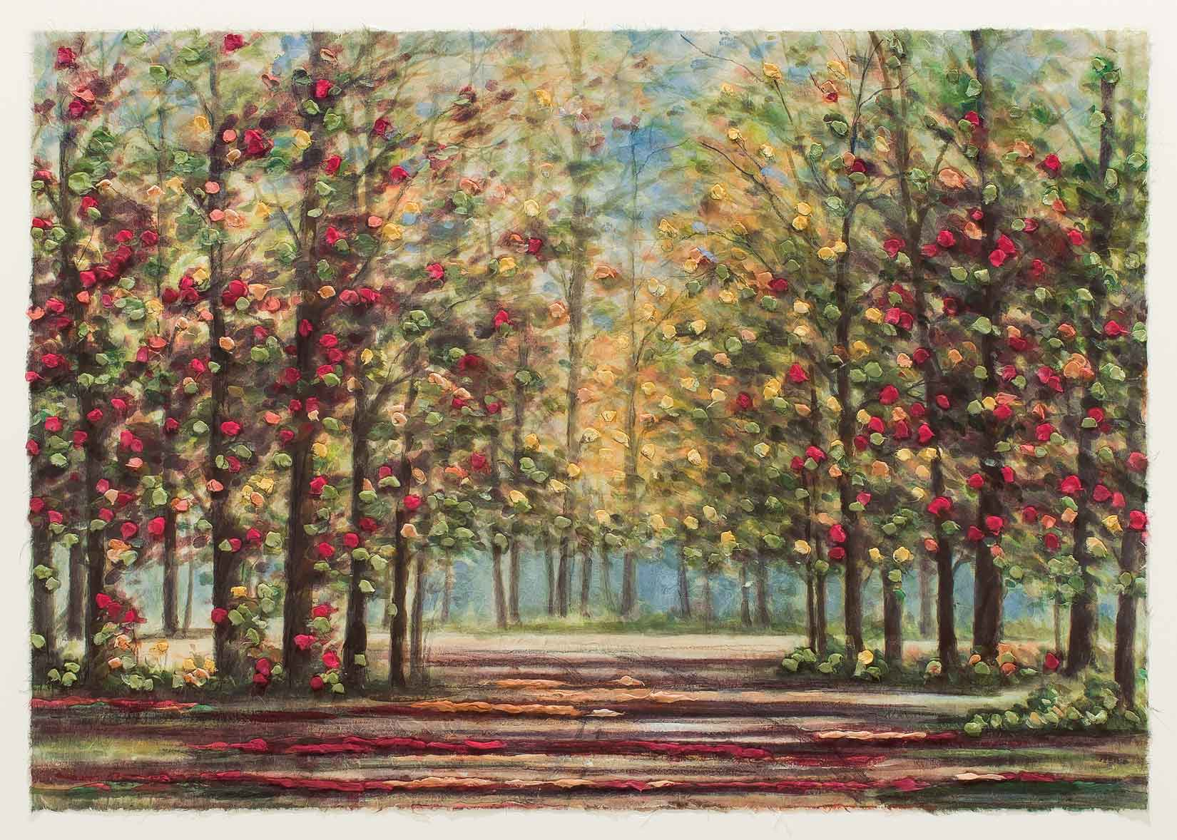 Autumn Road 30x40