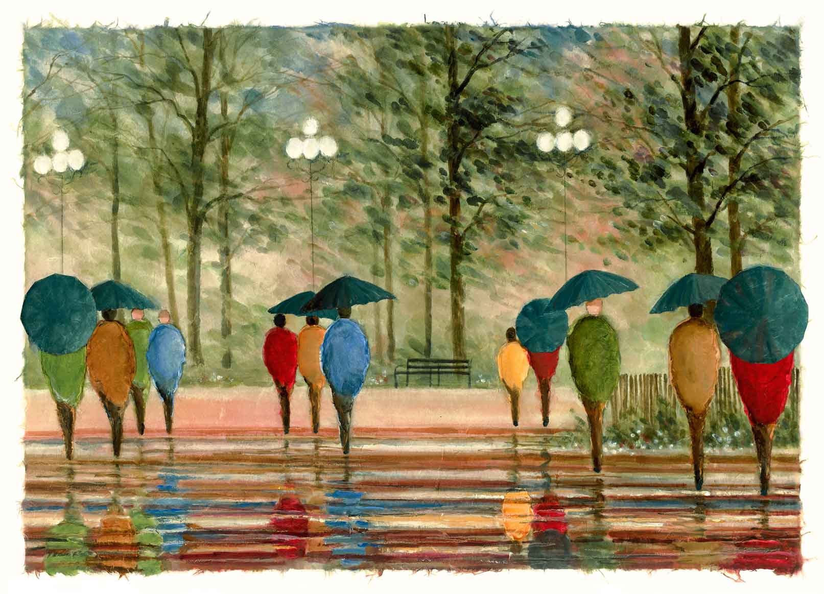 Walk in the Park 8x20