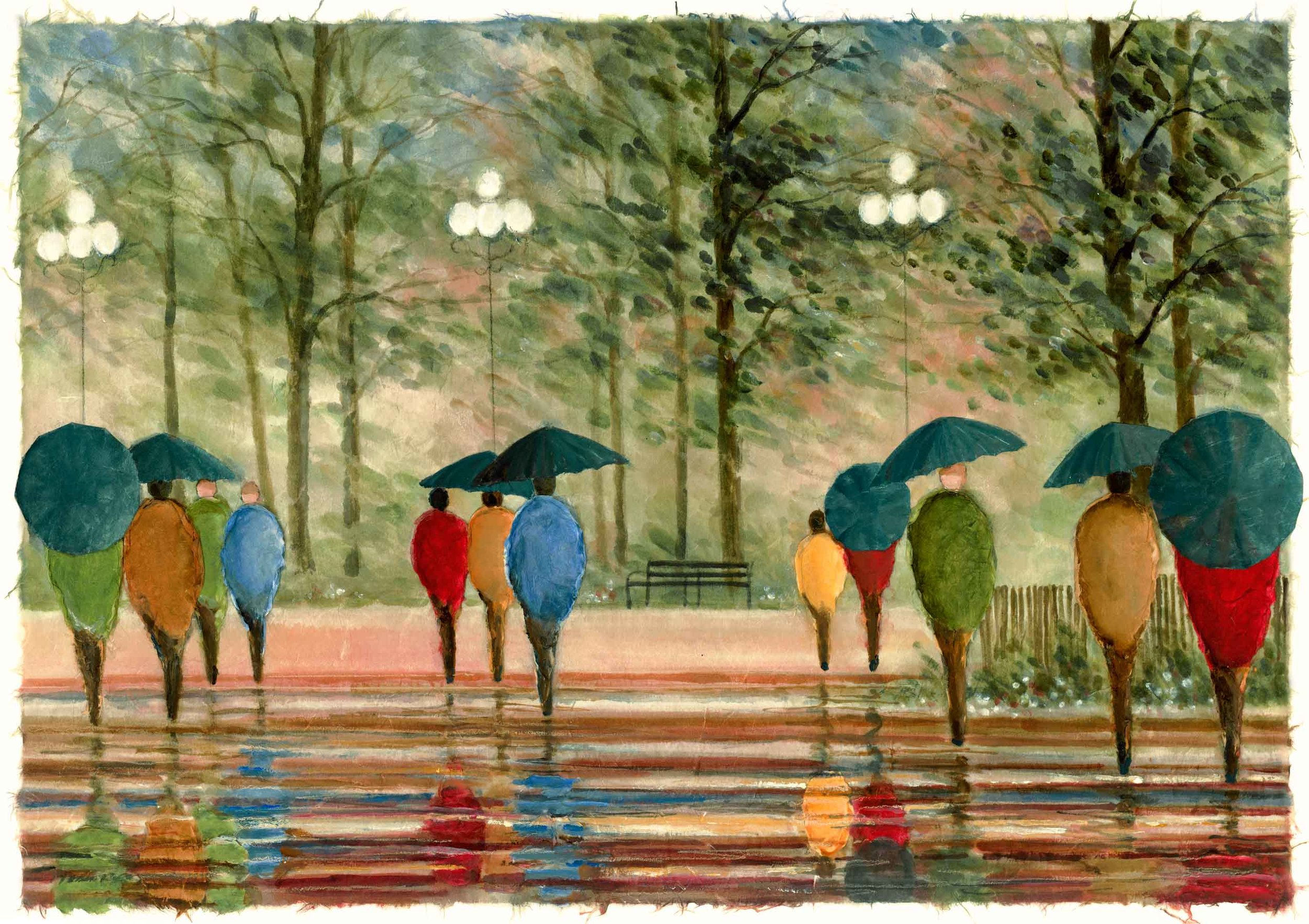 Walk in the Park 22x30