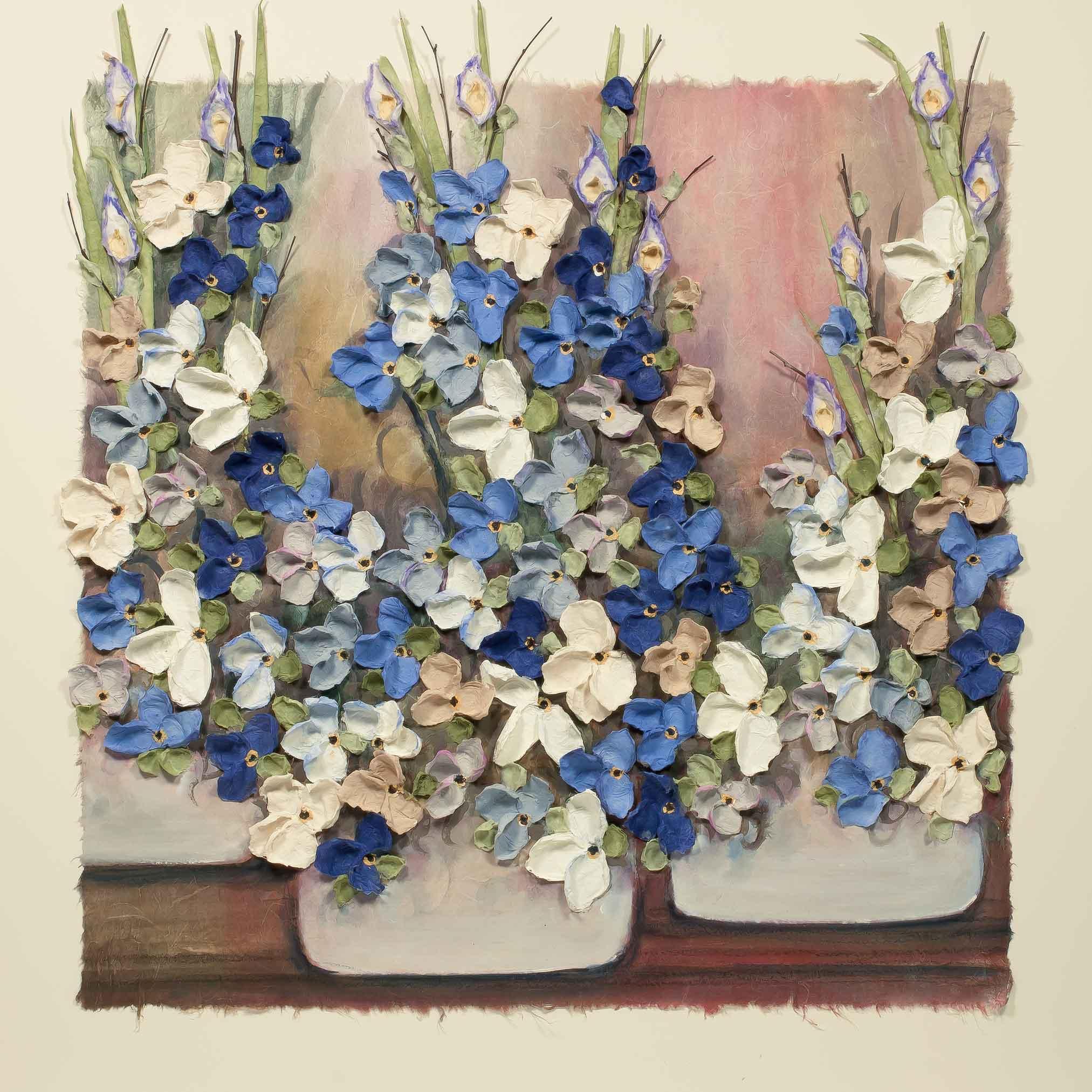 Copy of Blue Pots 16x36
